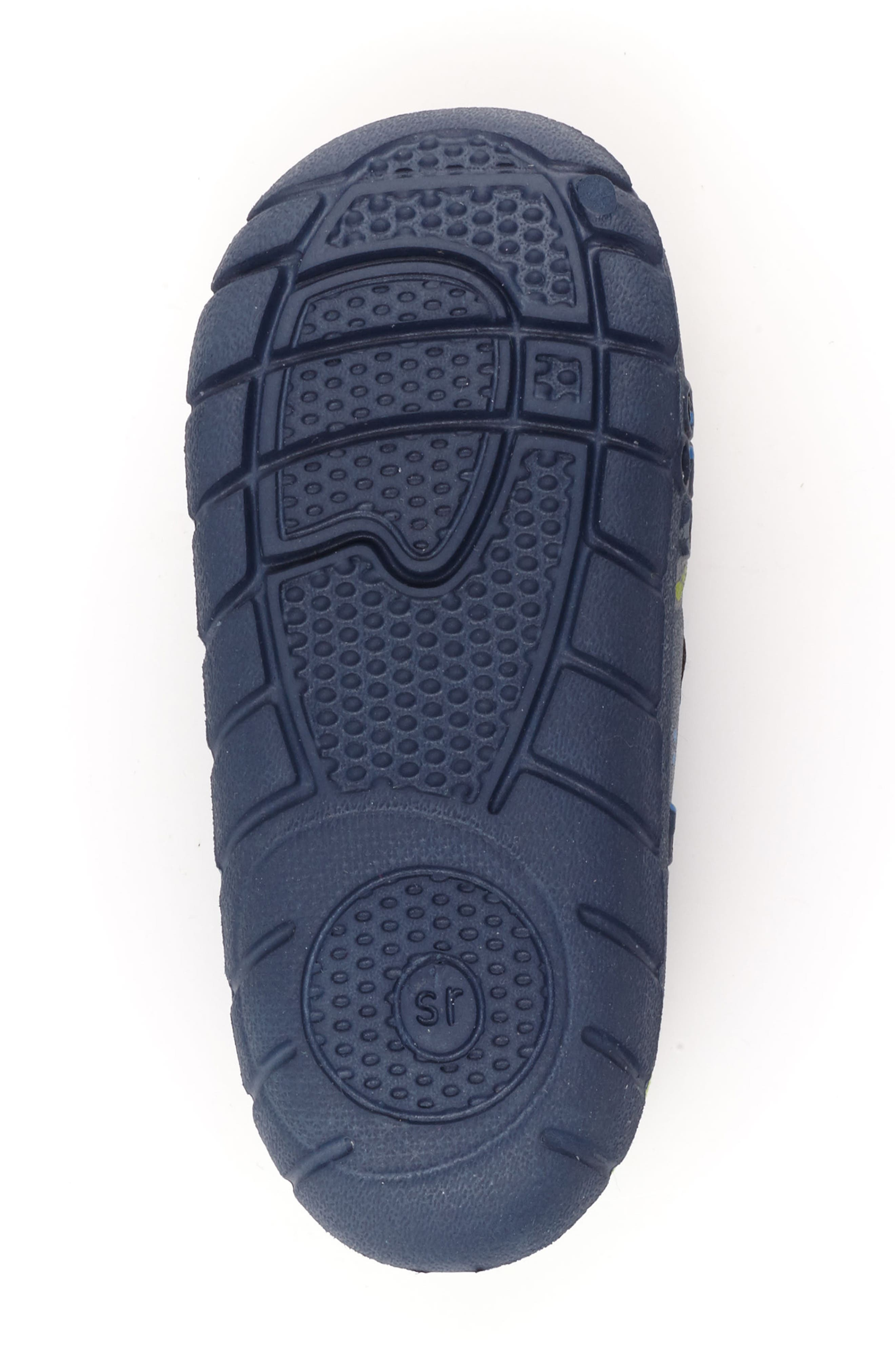 STRIDE RITE, Made2Play<sup>®</sup> Phibian Sneaker, Alternate thumbnail 6, color, NAVY ROCKET SHIP