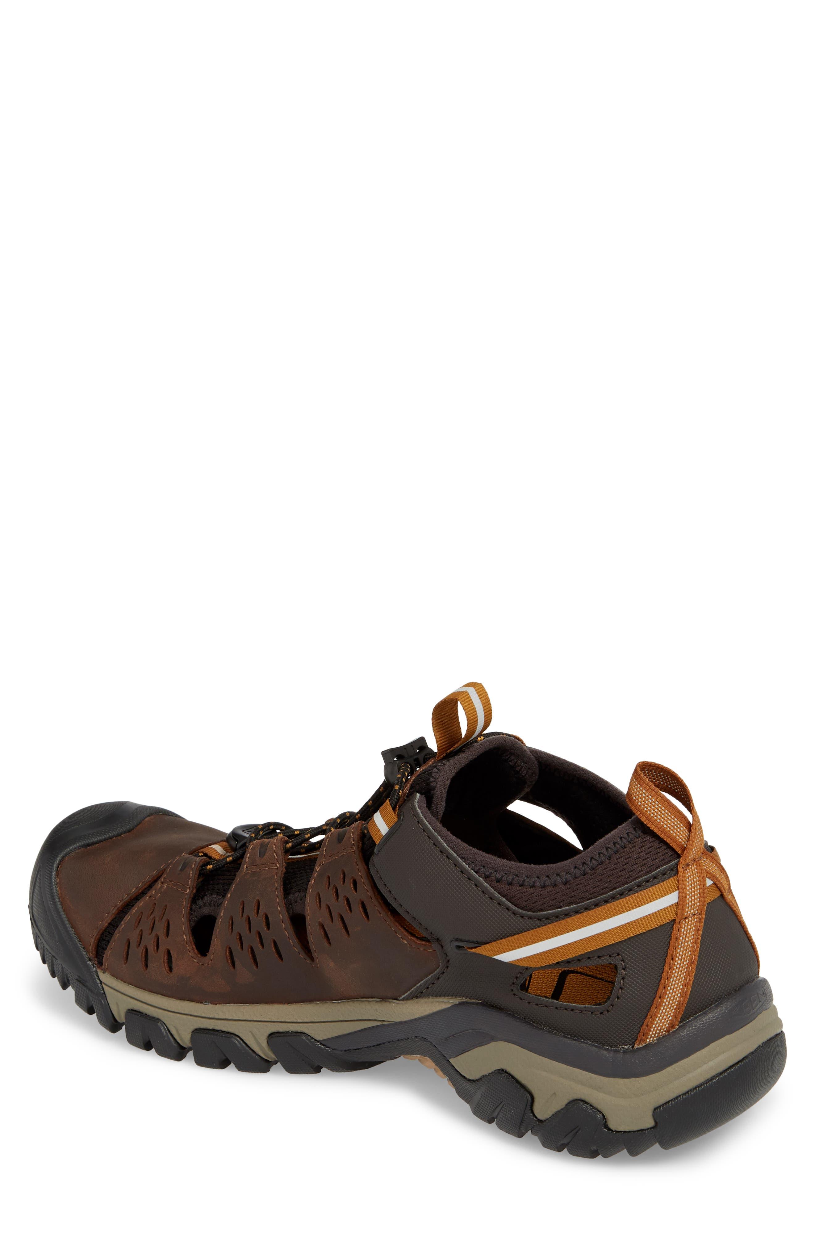 KEEN, Arroyo III Hiking Sandal, Alternate thumbnail 2, color, CUBAN/GOLDEN BROWN