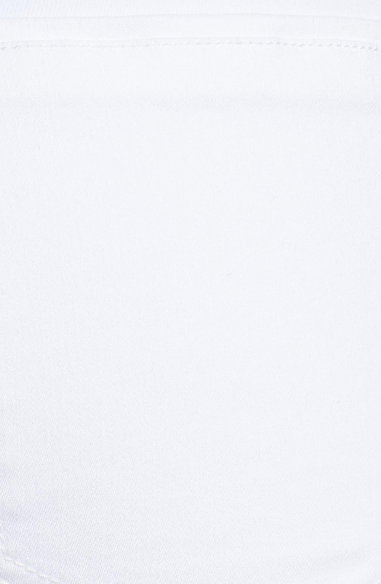 WIT & WISDOM, Ab-solution White Bermuda Shorts, Alternate thumbnail 6, color, OPTIC WHITE