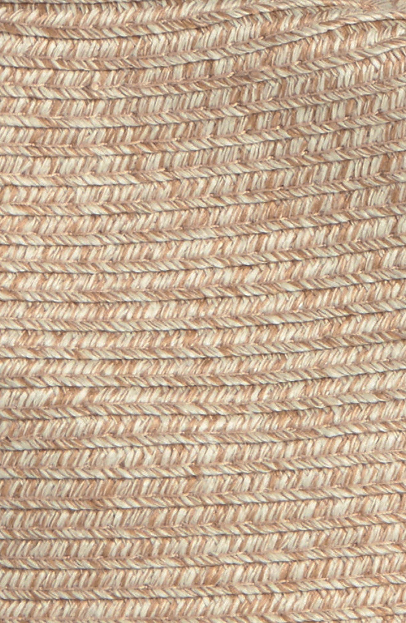 HALOGEN<SUP>®</SUP>, Packable Panama Hat, Alternate thumbnail 2, color, NATURAL