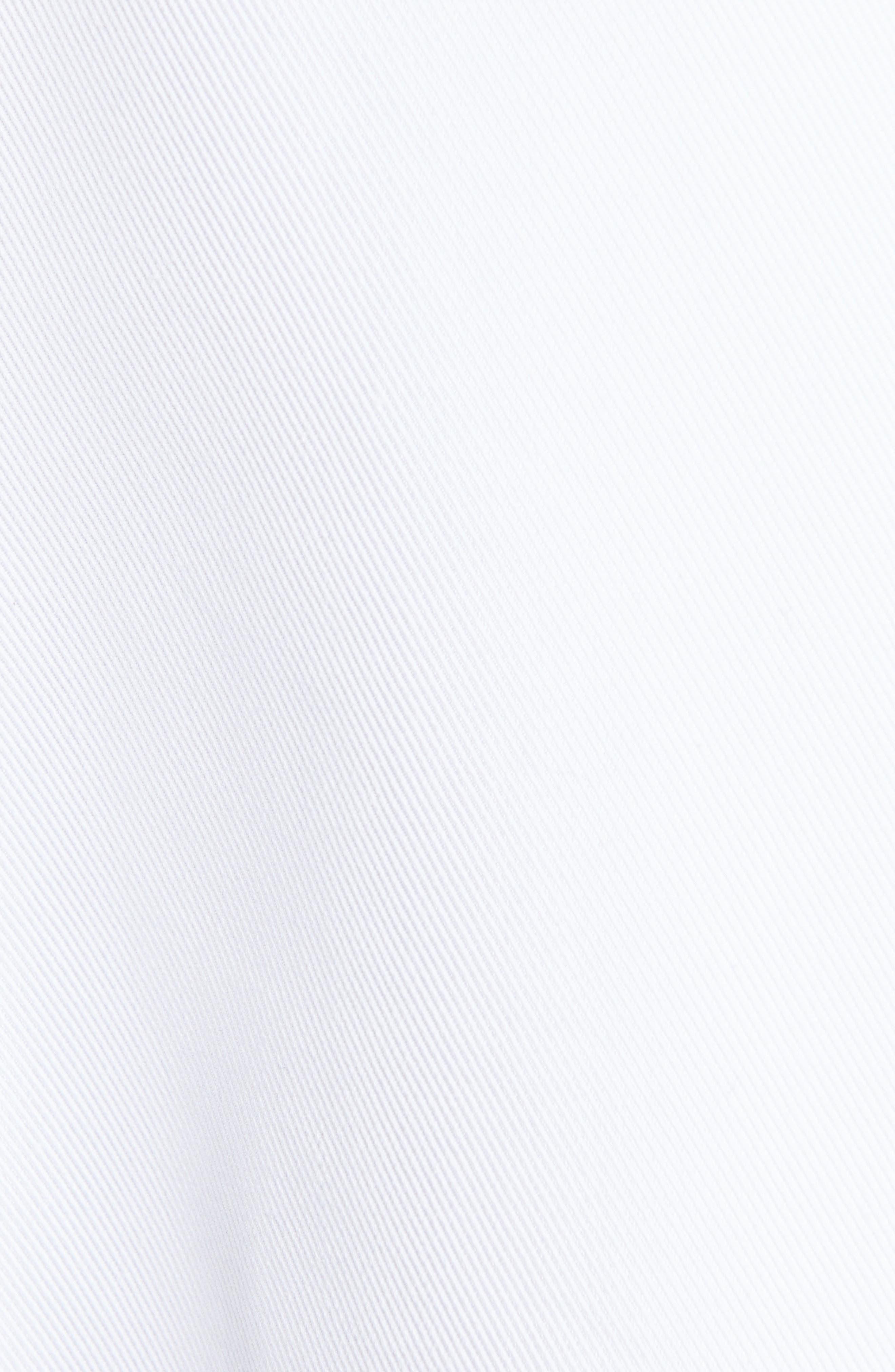 HELMUT LANG, Cotton Blend Blazer, Alternate thumbnail 7, color, WHITE