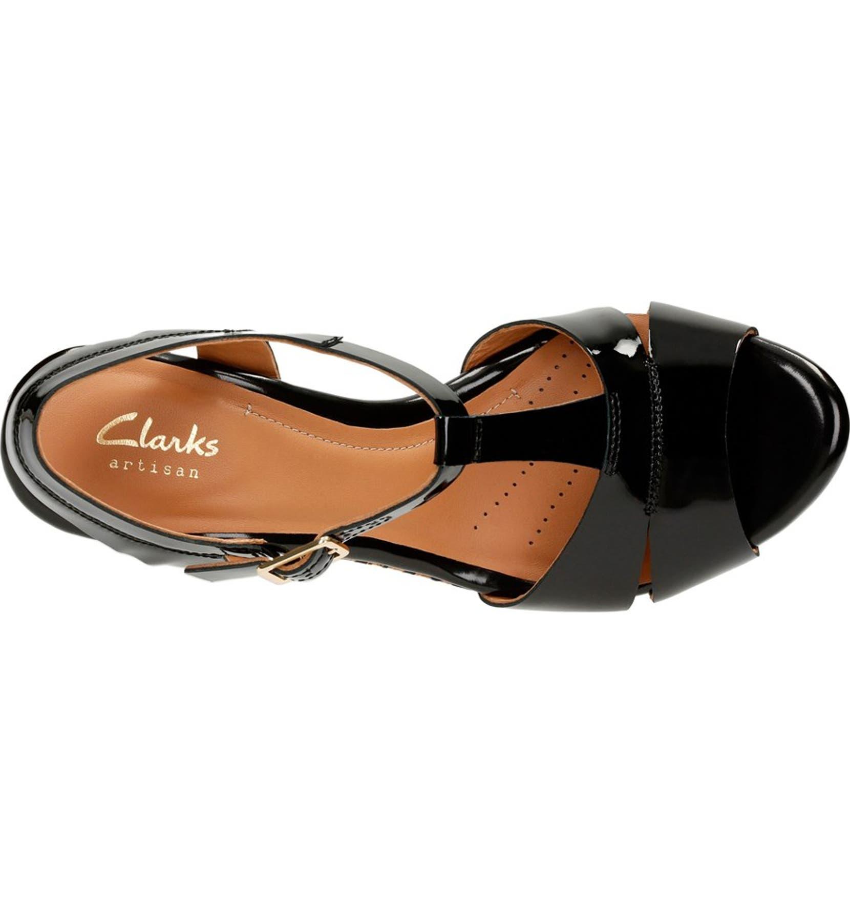0519f15213e Clarks®  Amelia Roma  Wedge Sandal (Women)