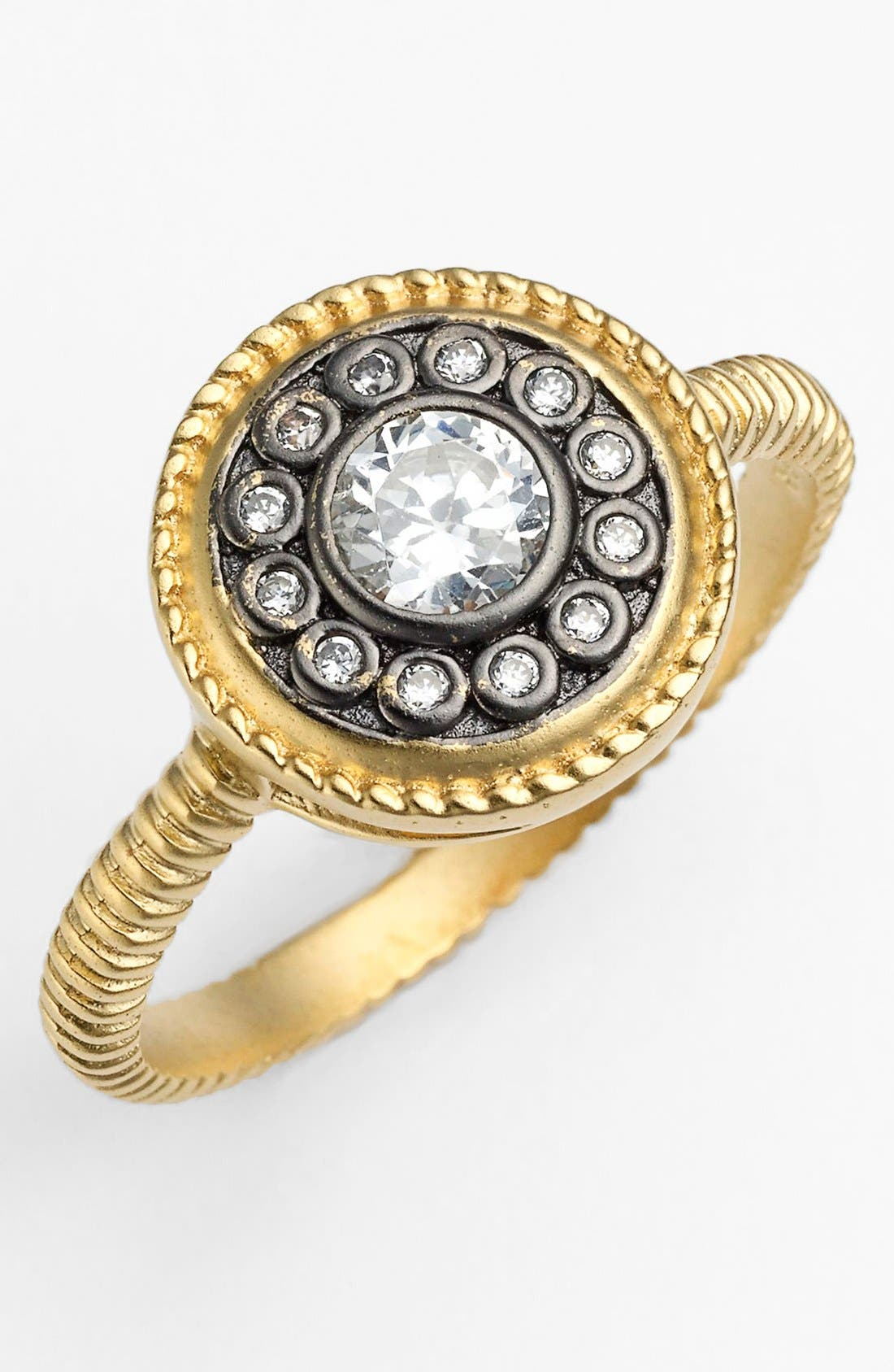 FREIDA ROTHMAN, 'Hamptons' Nautical Button Ring, Main thumbnail 1, color, 710