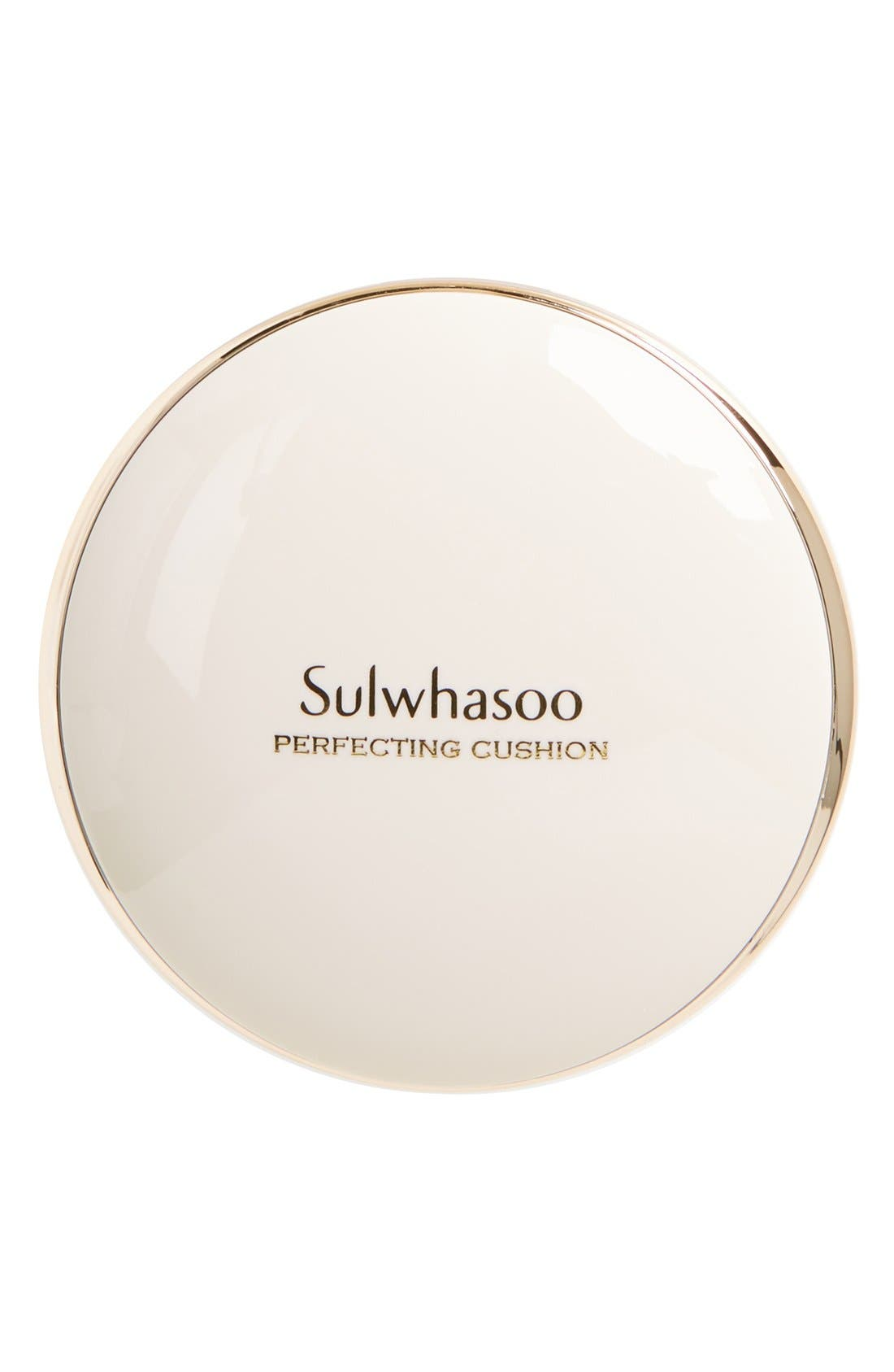 SULWHASOO, 'Perfecting Cushion' Foundation Compact, Alternate thumbnail 4, color, 23 MEDIUM BEIGE