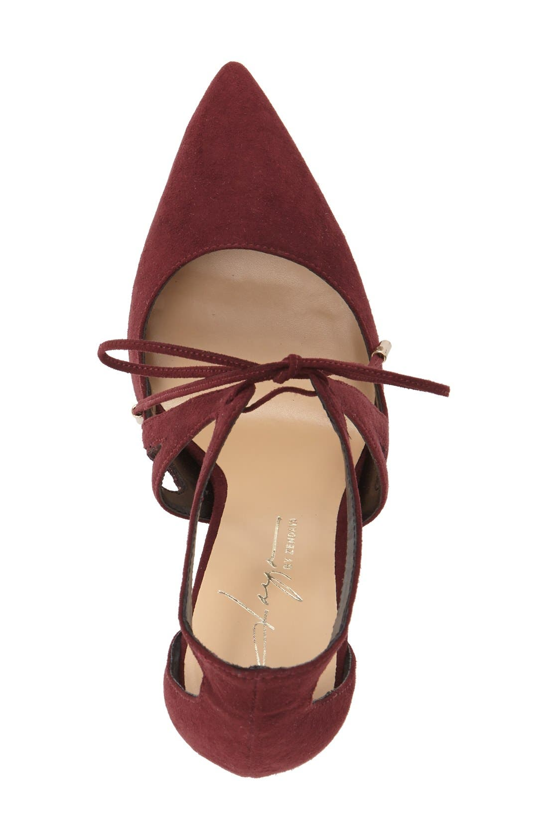 DAYA, by Zendaya 'Aaron' Pointy Toe Pump, Alternate thumbnail 4, color, 939
