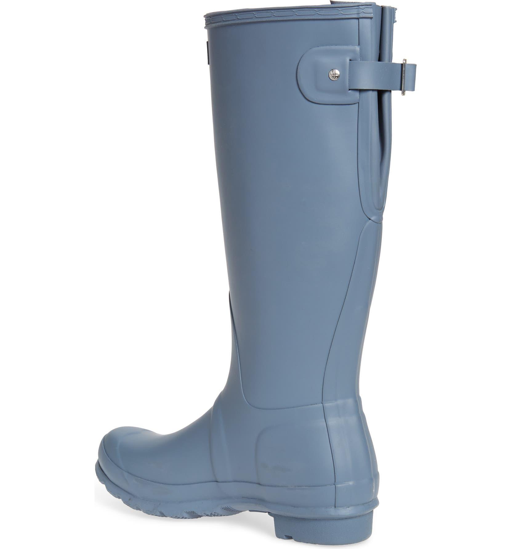 d816c3482d1 Hunter Original Tall Adjustable Back Waterproof Rain Boot (Women ...