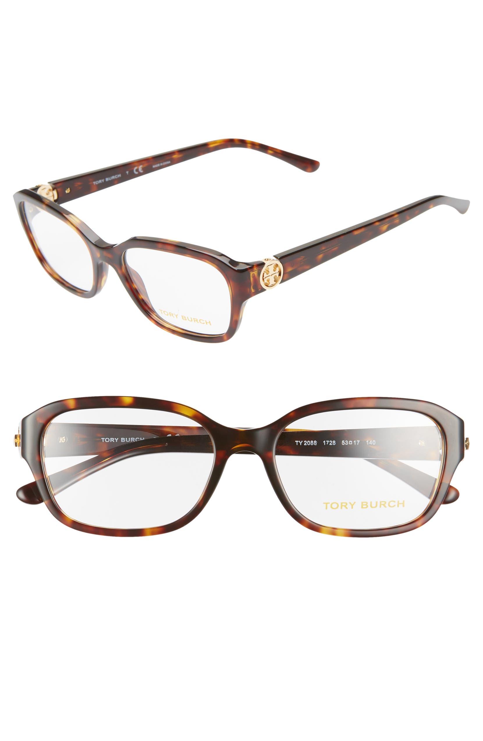 1369fb65592d Tory Burch 53mm Optical Glasses | Nordstrom