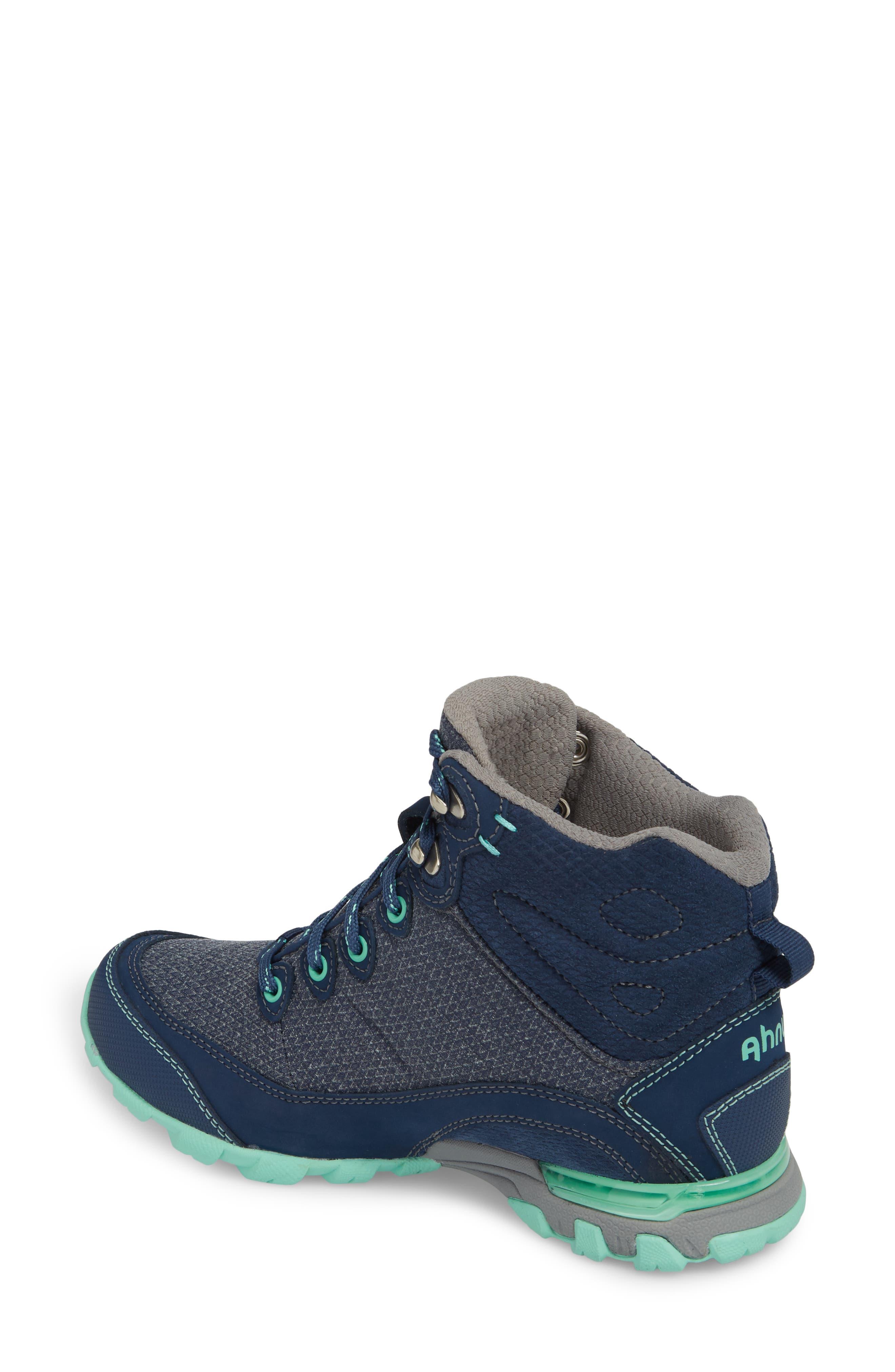 TEVA, Ahnu by Teva Sugarpine II Waterproof Hiking Boot, Alternate thumbnail 2, color, INSIGNIA BLUE