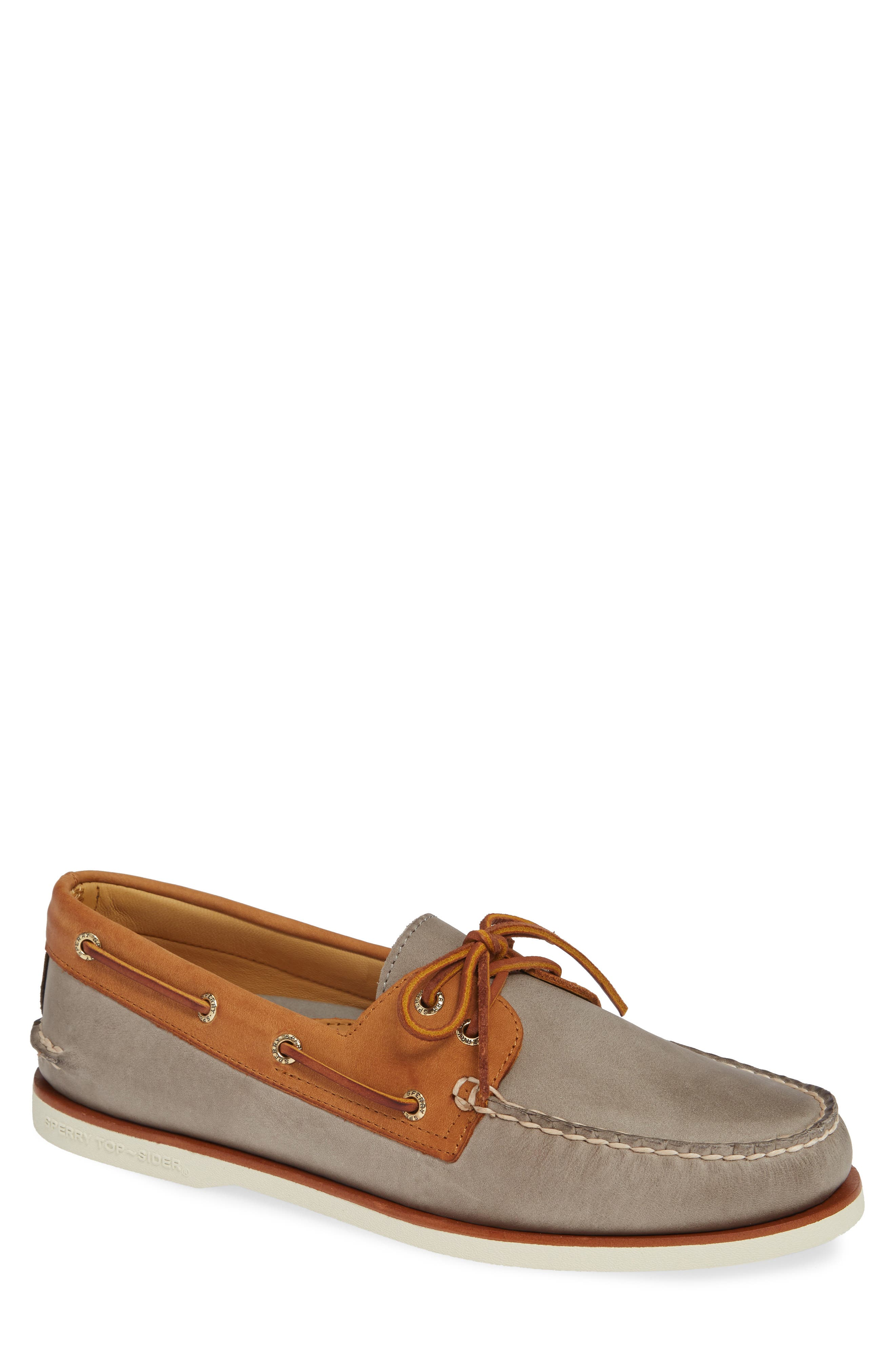 SPERRY, Gold Cup AO Boat Shoe, Main thumbnail 1, color, 020