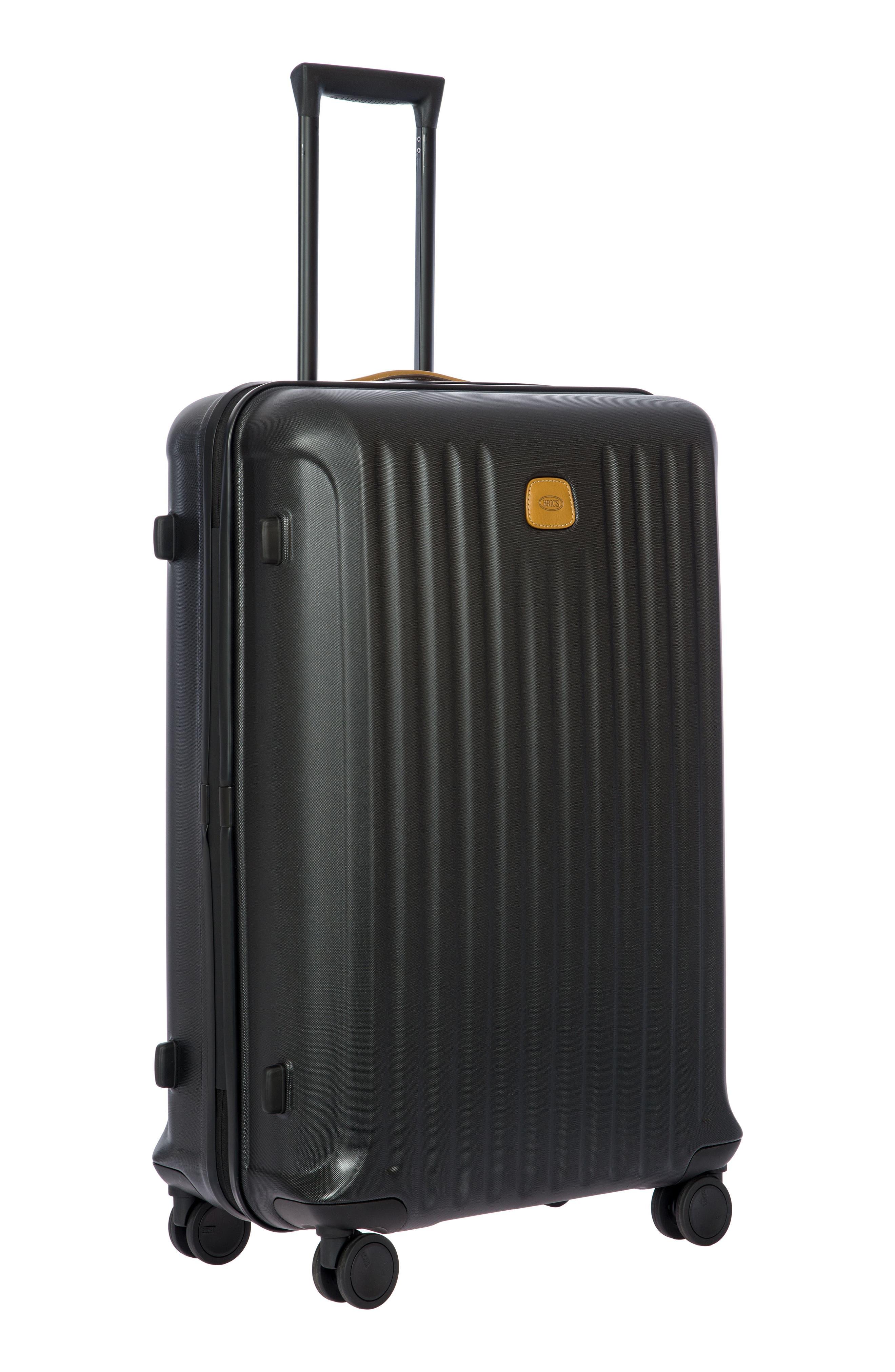 BRIC'S, Capri 32-Inch Spinner Suitcase, Alternate thumbnail 3, color, MATTE BLACK
