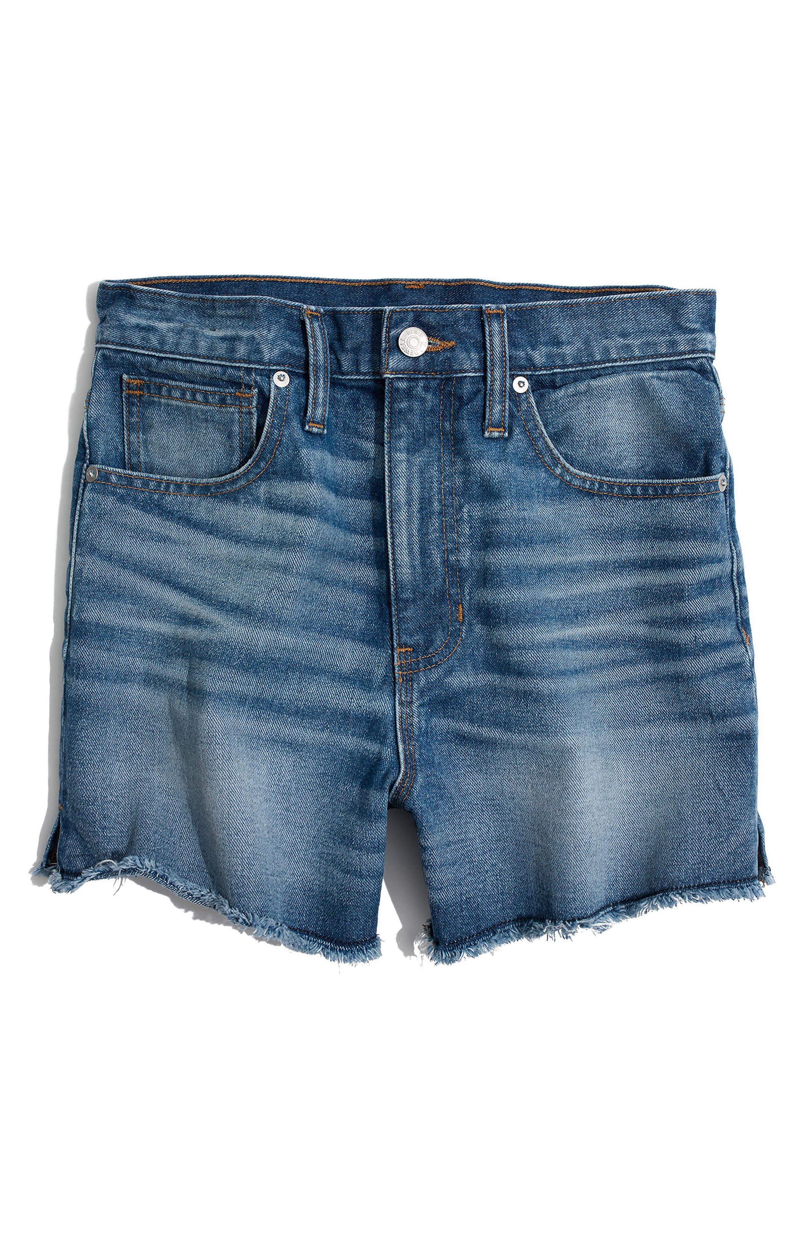 MADEWELL, The Perfect Jean Shorts, Alternate thumbnail 3, color, BUTLER