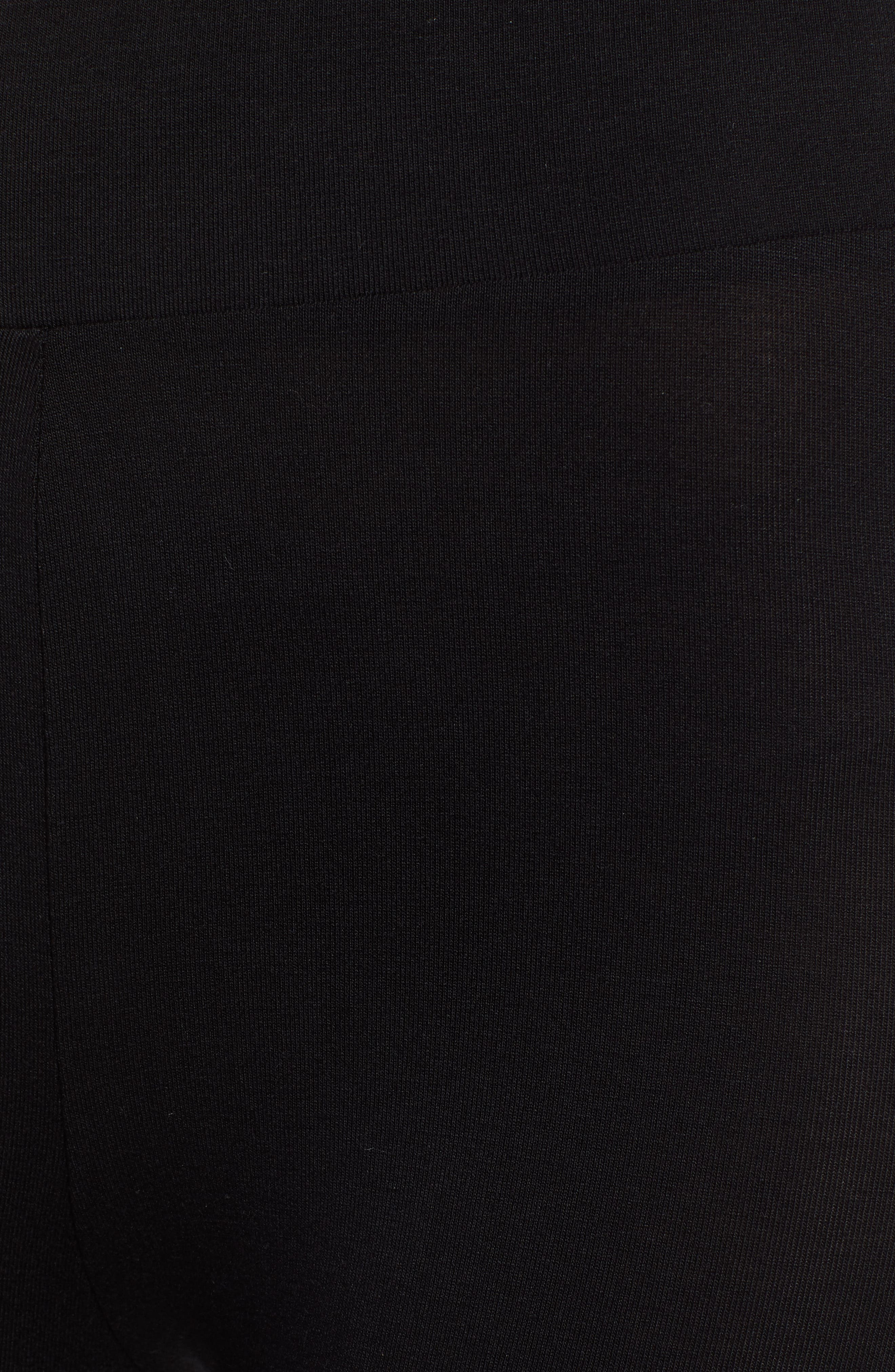 IVY PARK<SUP>®</SUP>, Shadow Logo Leggings, Alternate thumbnail 6, color, 001