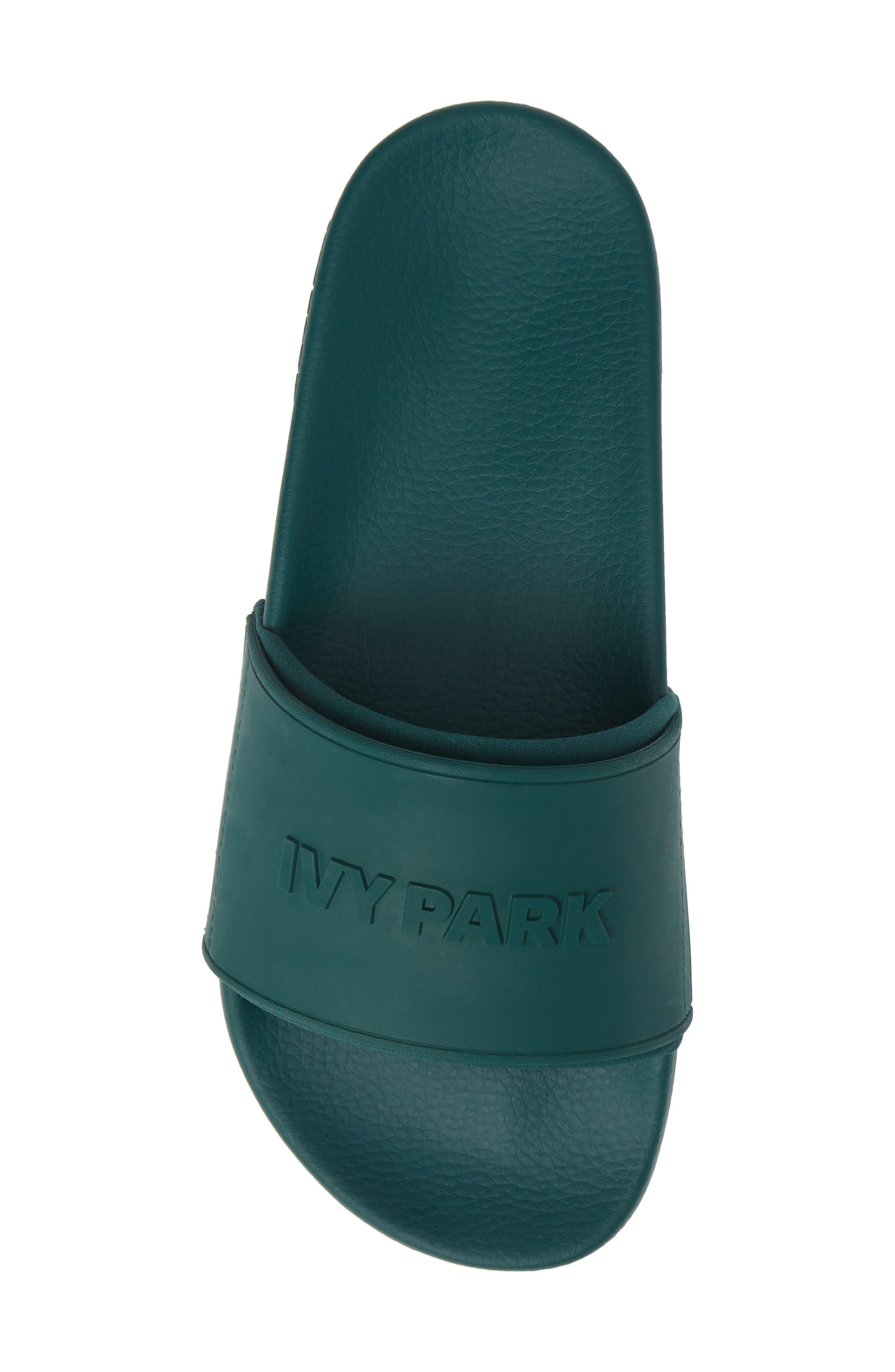 IVY PARK<SUP>®</SUP>, Embossed Logo Slide Sandal, Alternate thumbnail 5, color, 300