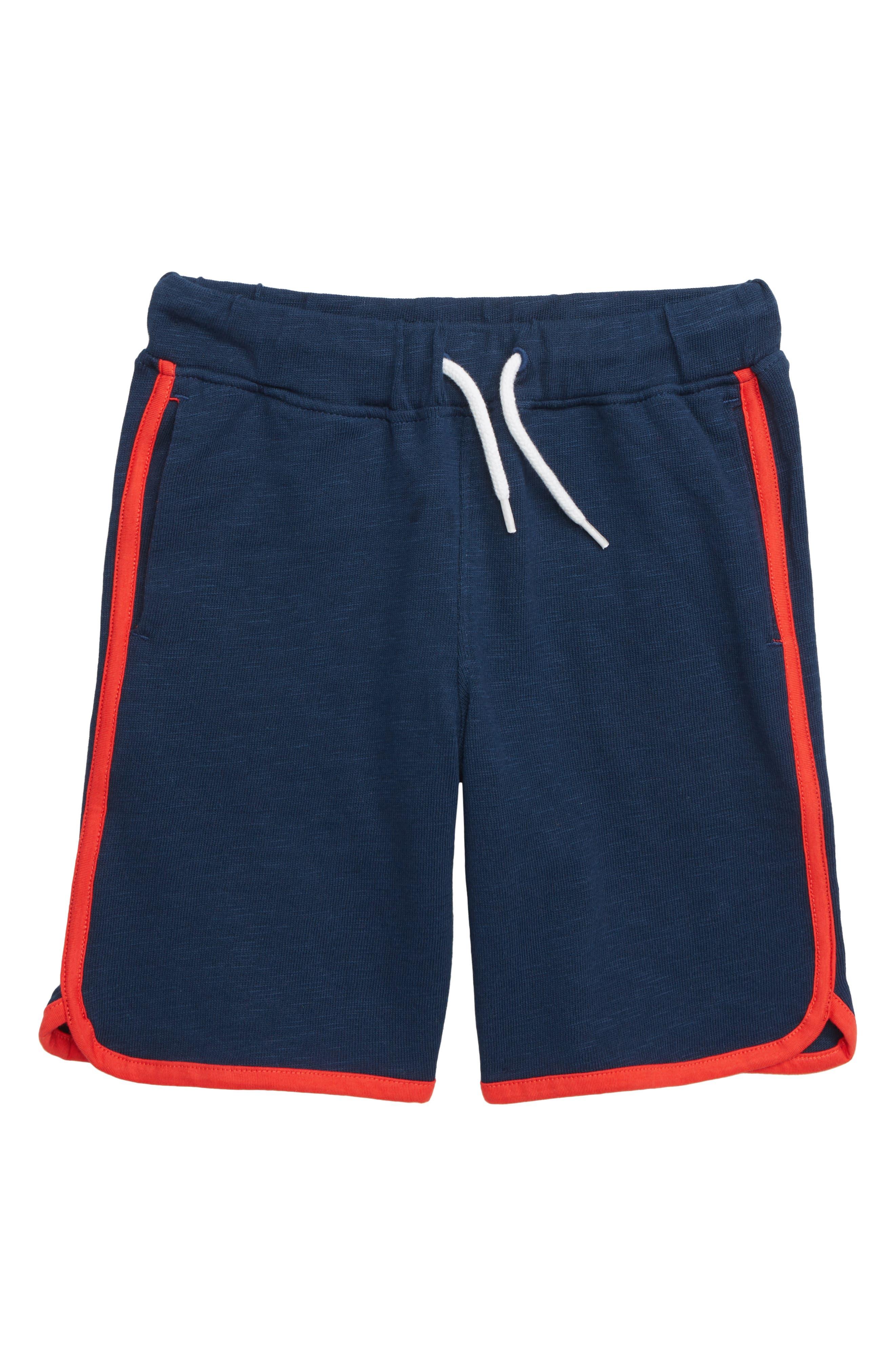 HATLEY Athletic Shorts, Main, color, BLUE