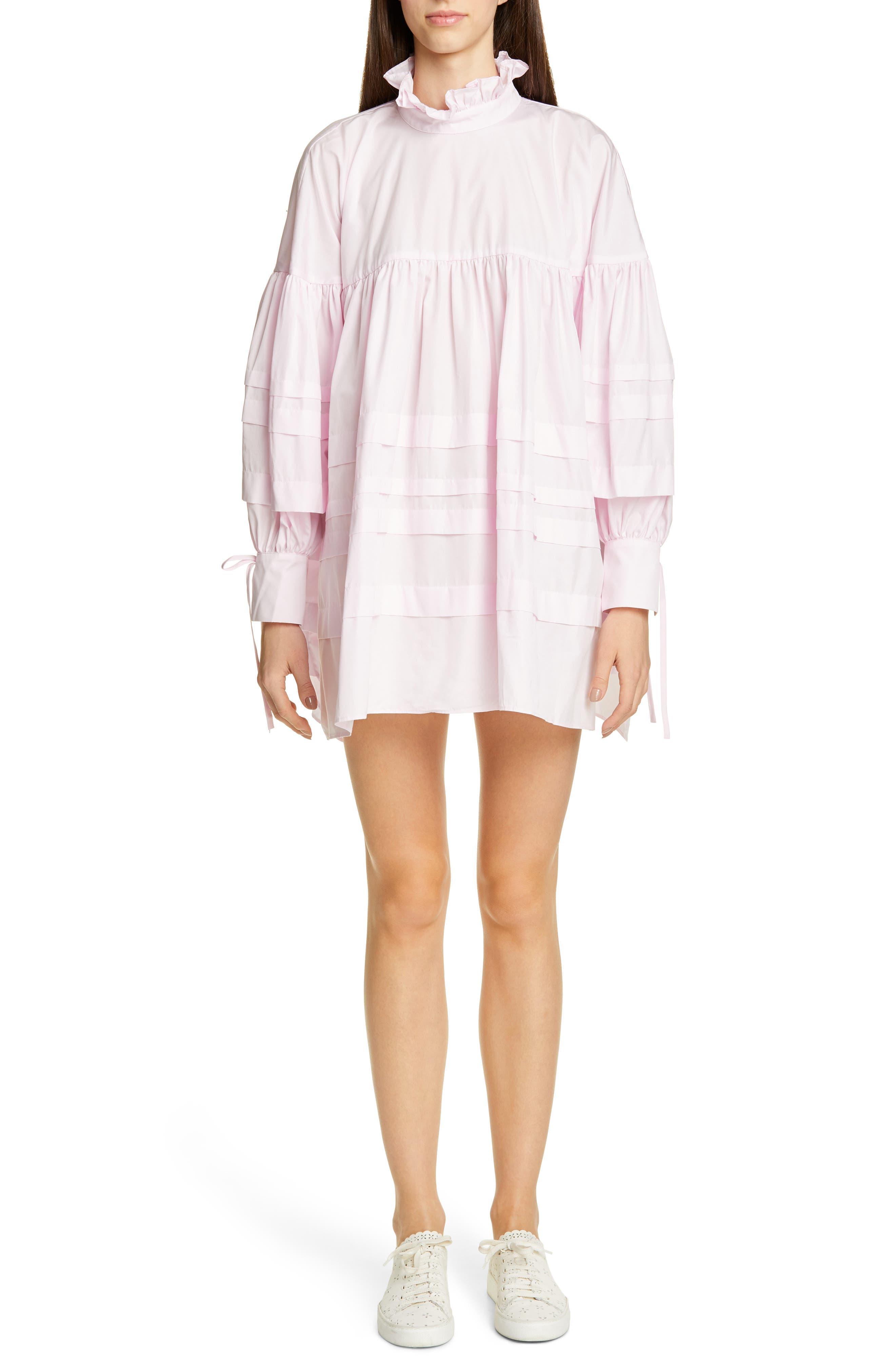 Cecilie Bahnsen Alberte Dress, US / 12 UK - Pink
