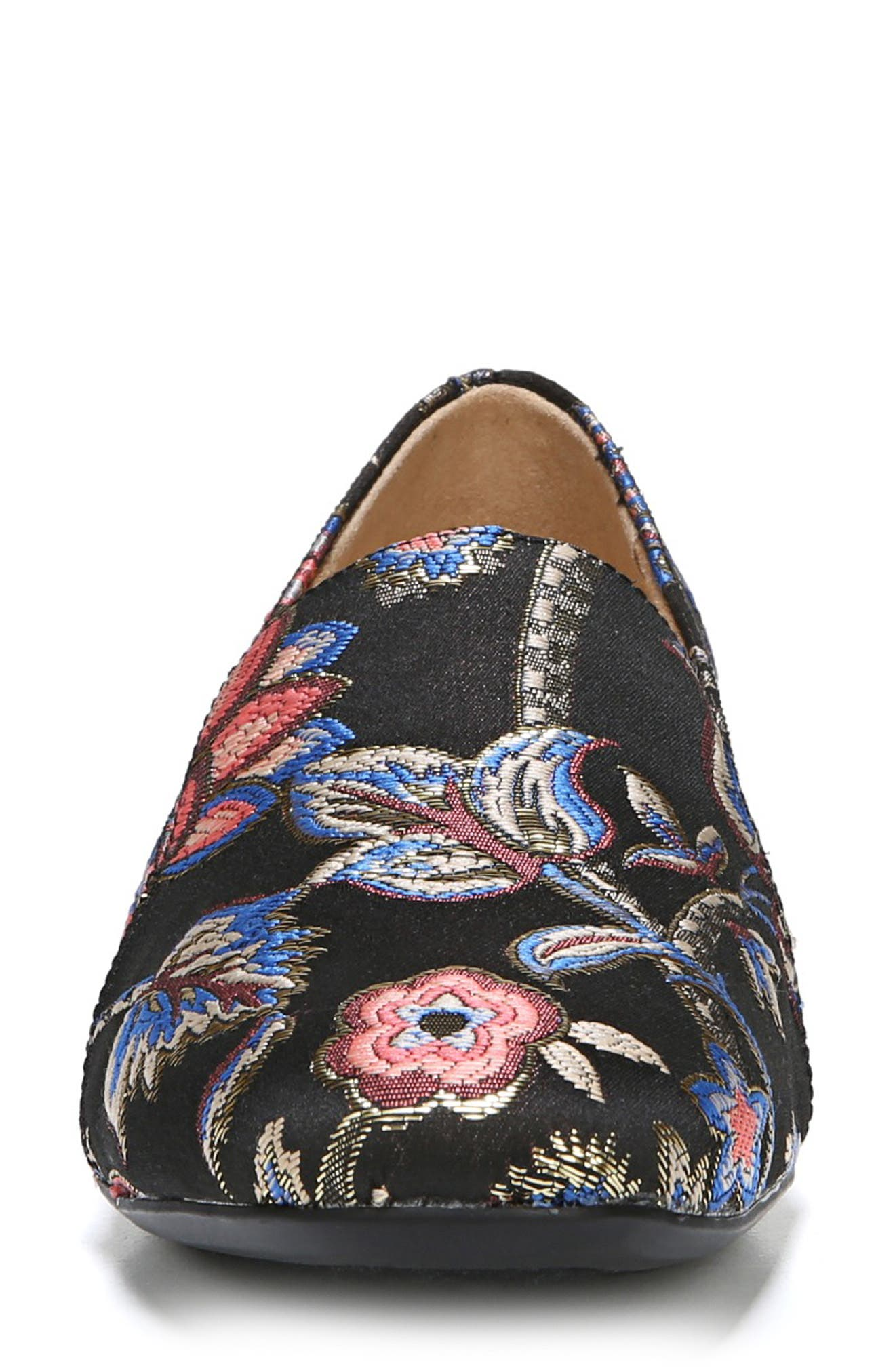 NATURALIZER, Emiline Flat Loafer, Alternate thumbnail 4, color, BROCADE