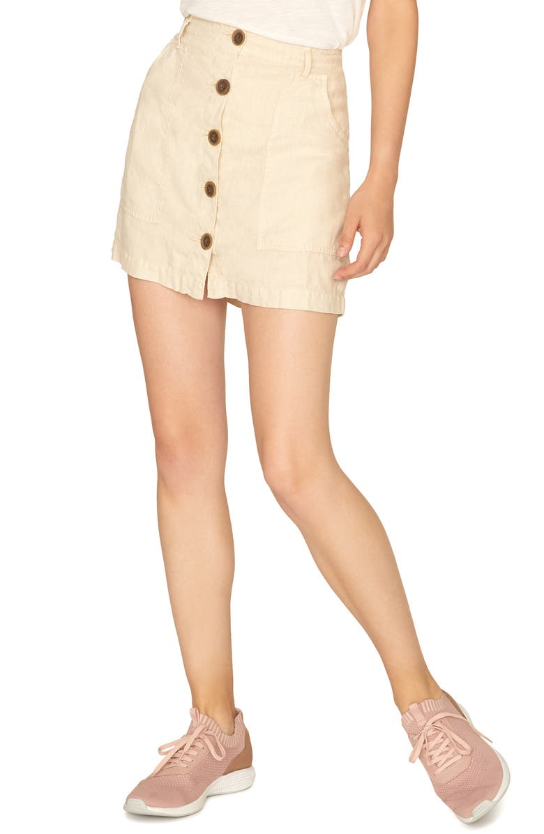 Sanctuary Blazers TRAILBLAZER BUTTON FRONT SKIRT
