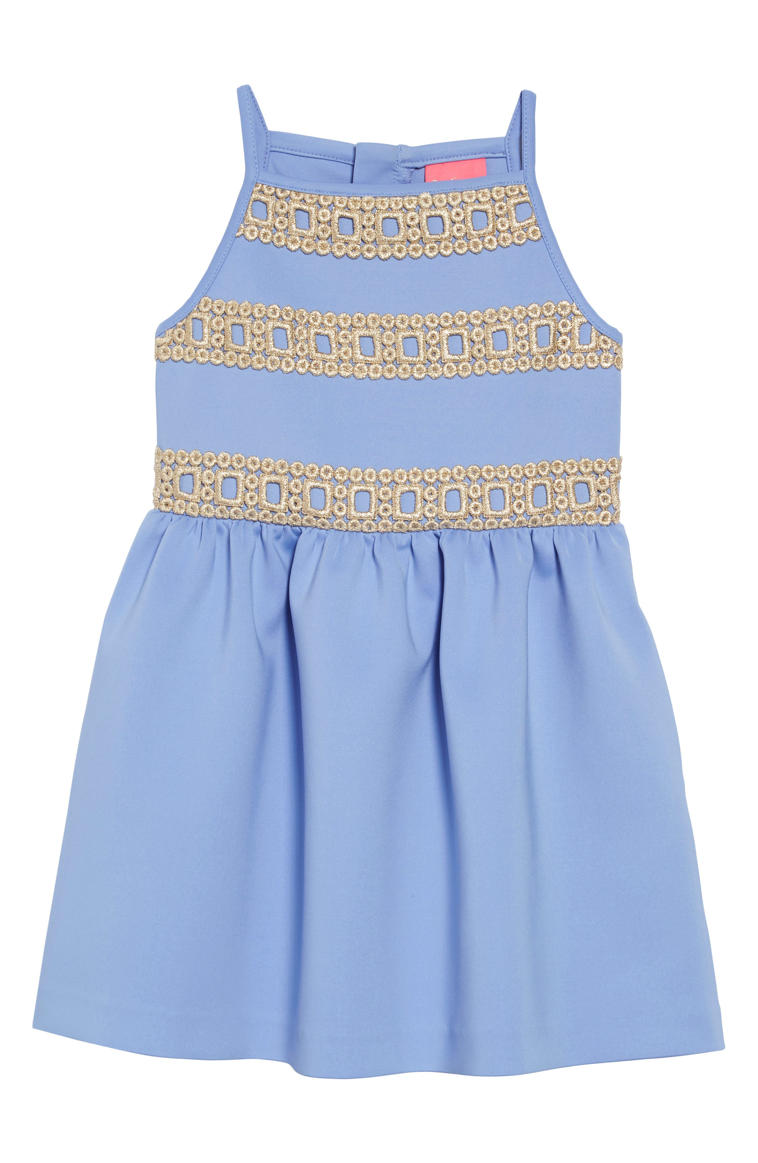 16dfffc289e Girl s Lilly Pulitzer Elize Lace Trim Sundress