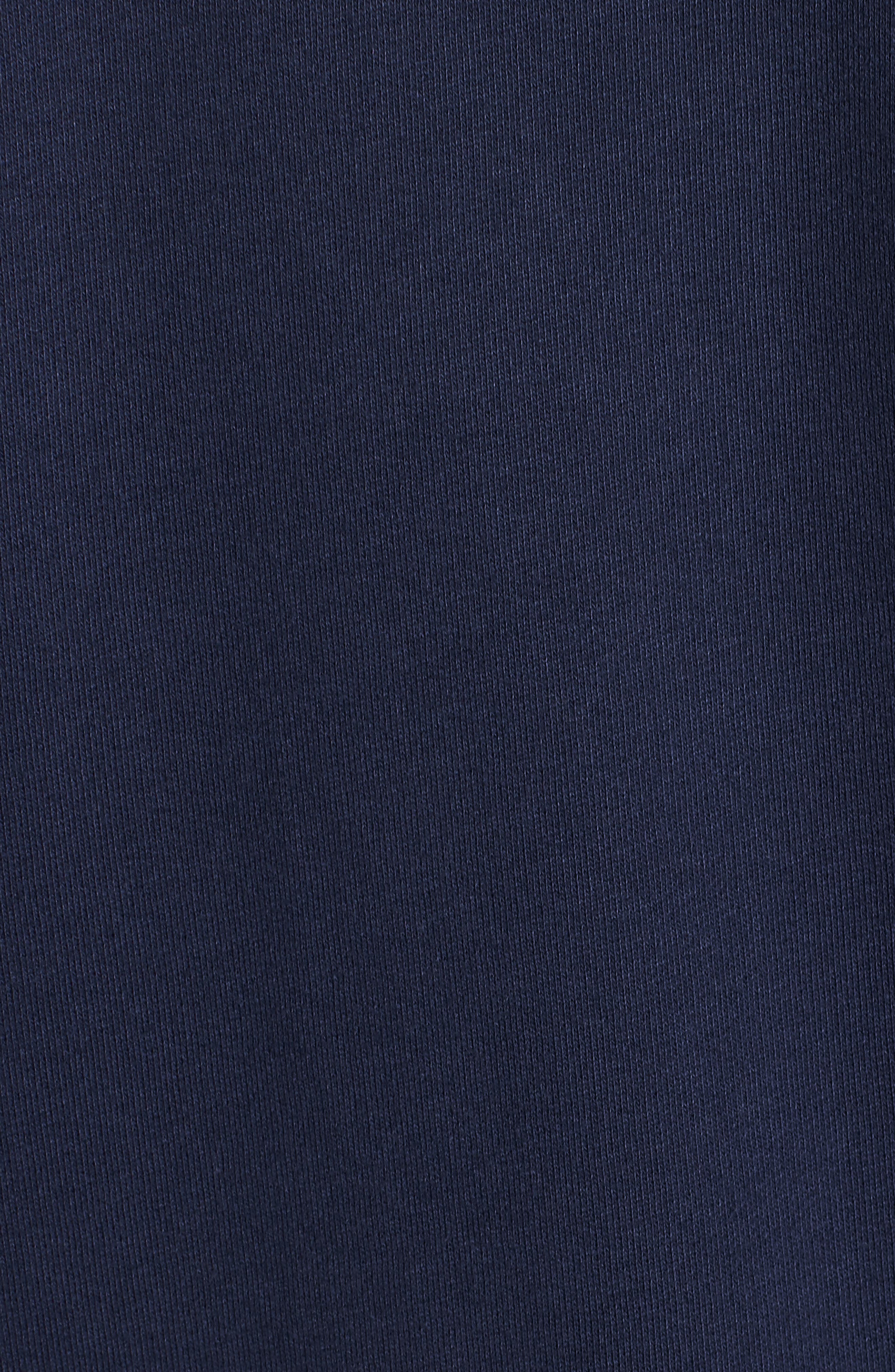 VINEYARD VINES, Collegiate Half Zip Pullover, Alternate thumbnail 5, color, VINEYARD NAVY