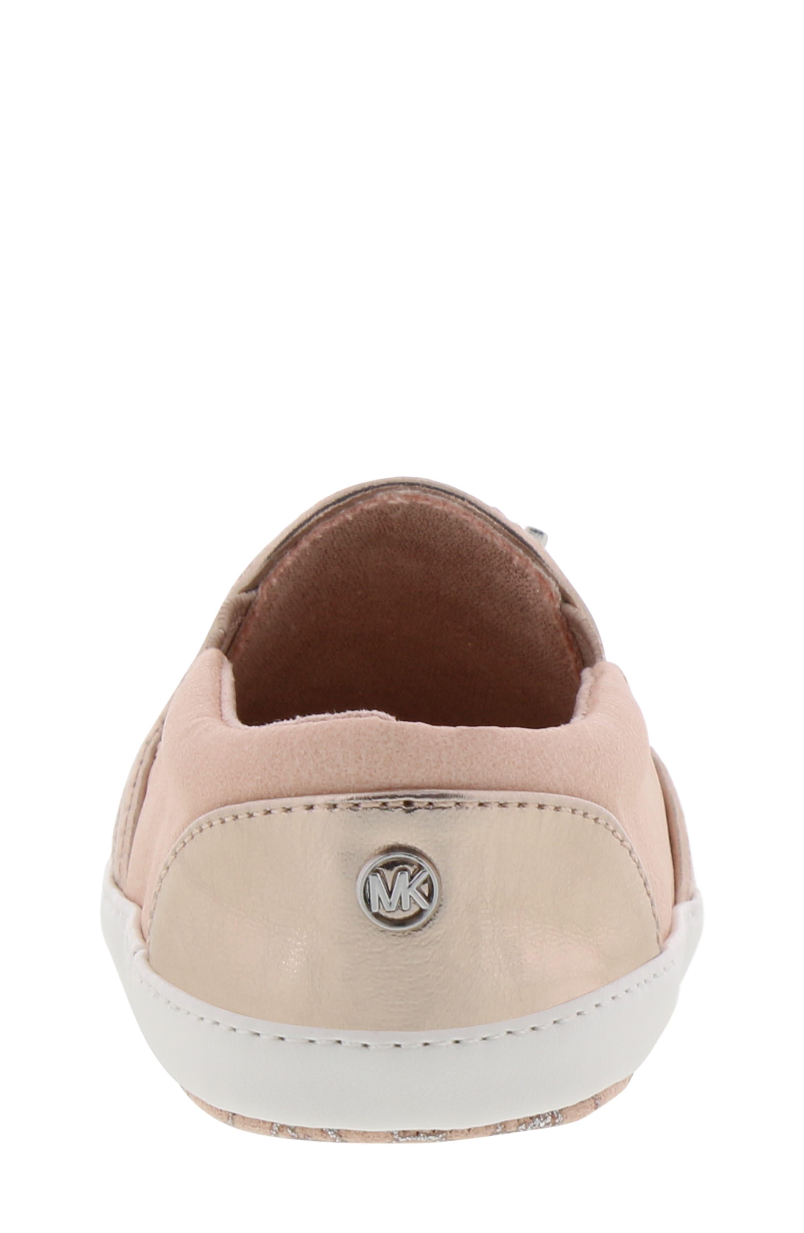 MICHAEL MICHAEL KORS, Magic Slip-On Sneaker, Alternate thumbnail 7, color, BLUSH