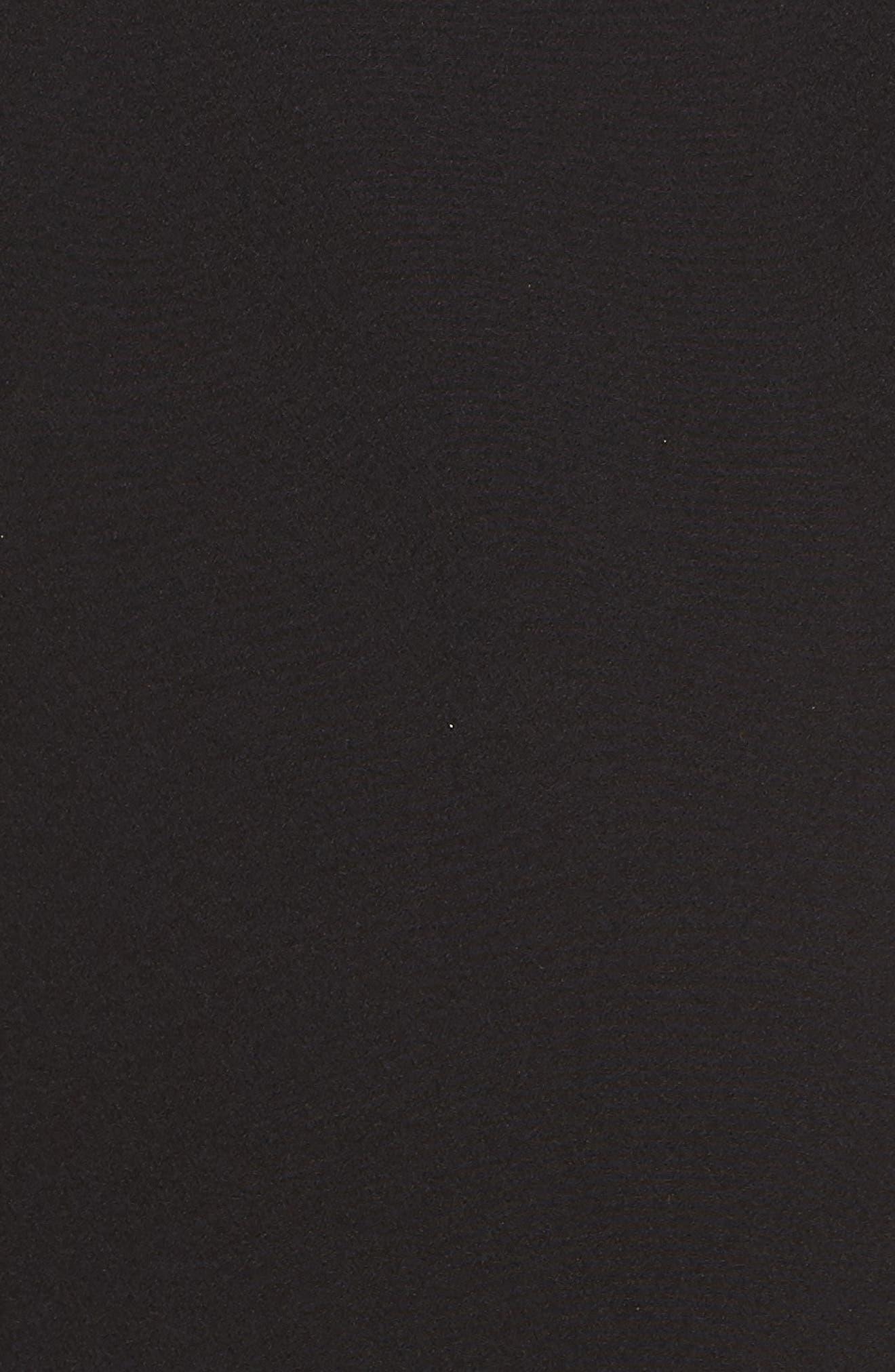 ELIZA J, Ruffle Off the Shoulder Dress, Alternate thumbnail 6, color, 001