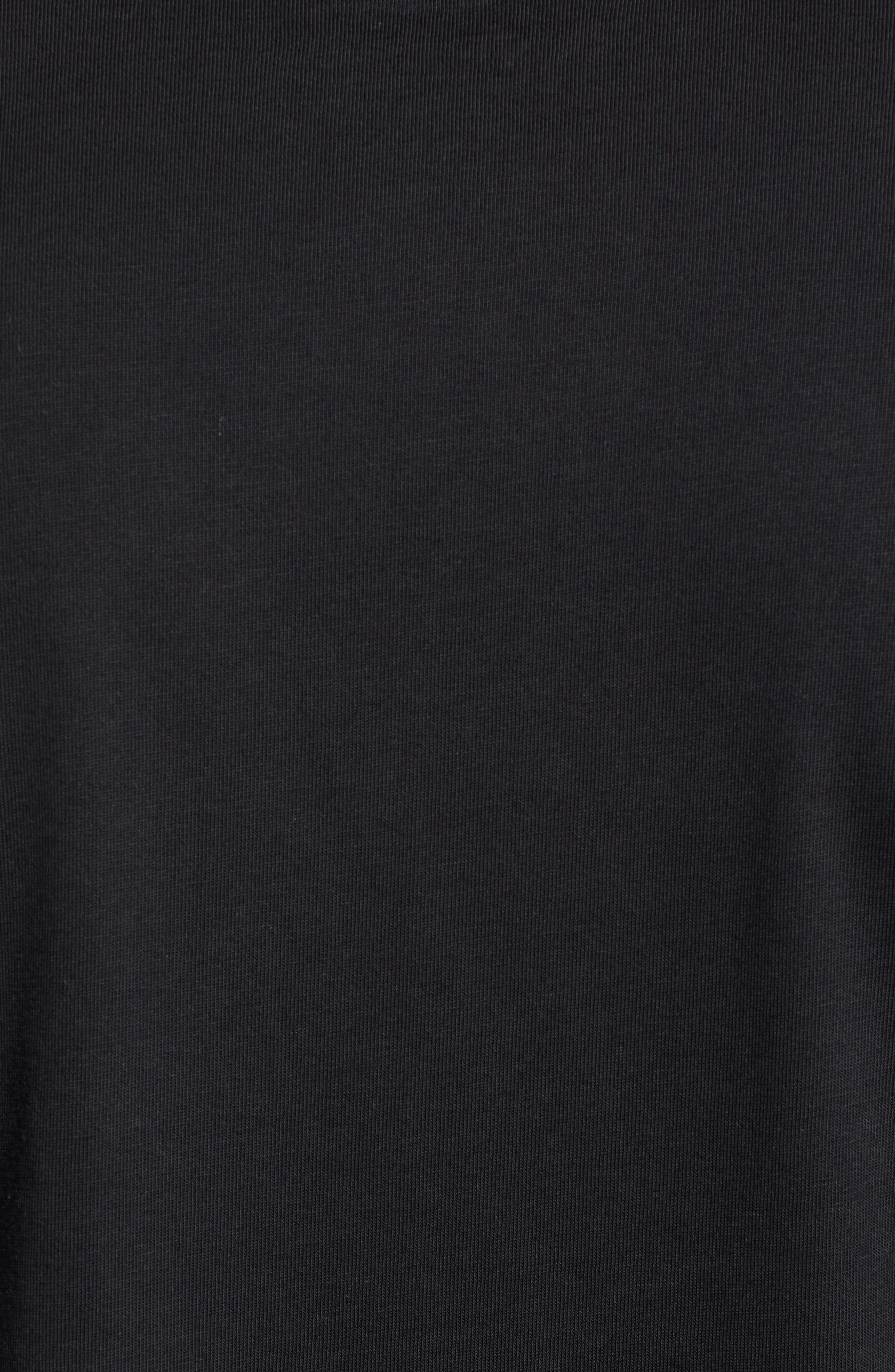 PSYCHO BUNNY, Otley Graphic T-Shirt, Alternate thumbnail 5, color, 001