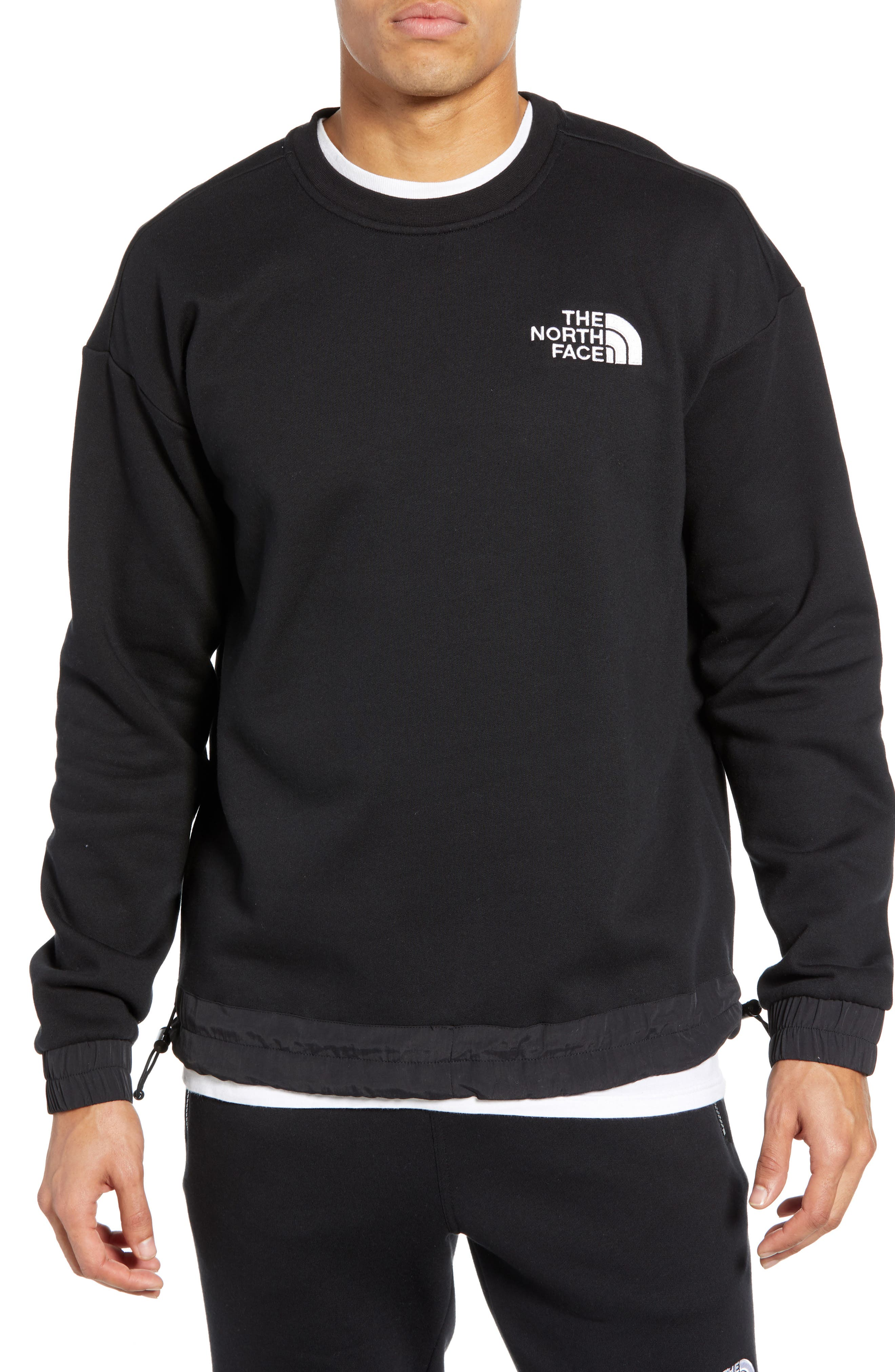 THE NORTH FACE, 1992 Rage Collection Sweatshirt, Main thumbnail 1, color, 001