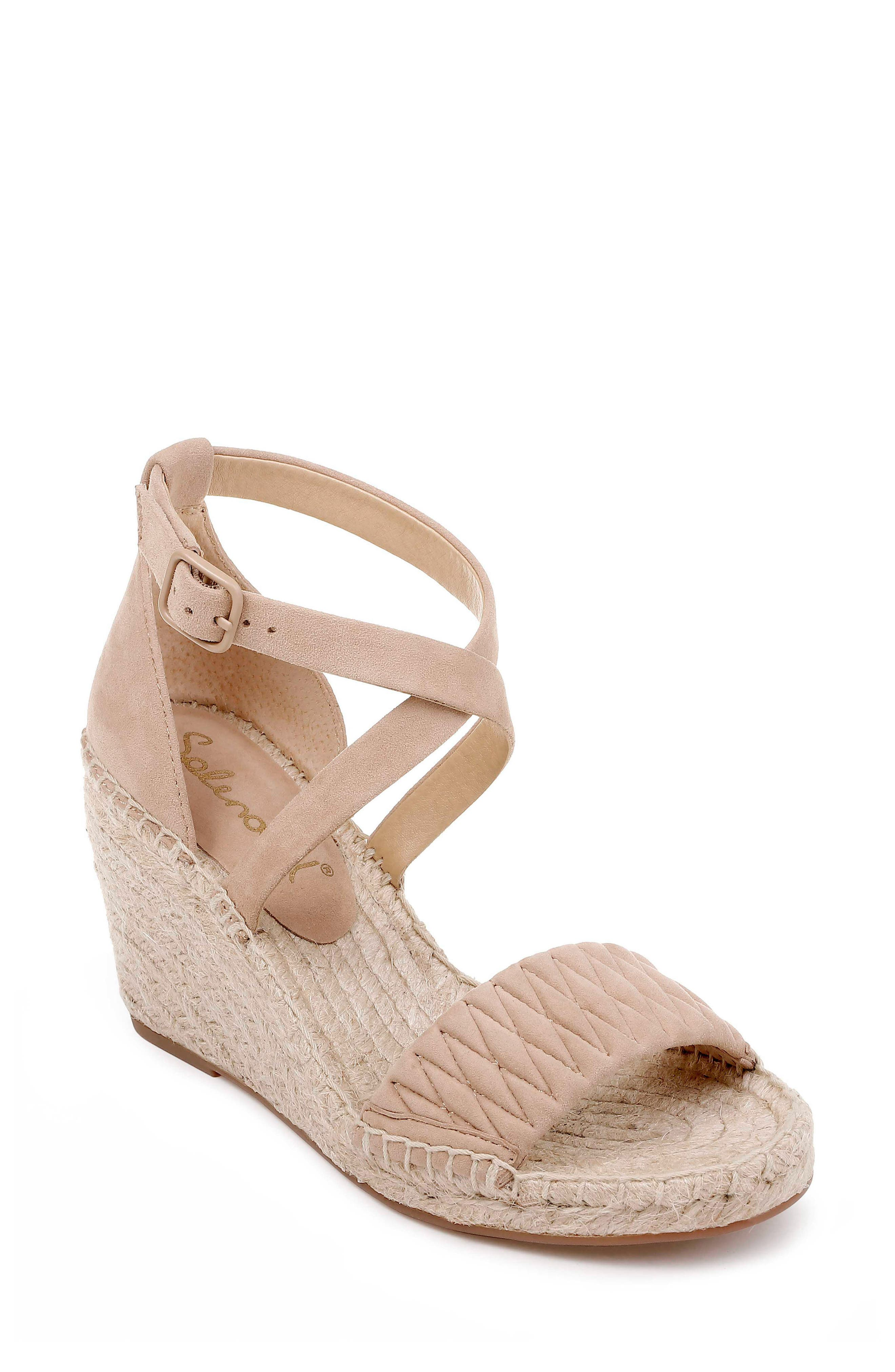 SPLENDID Sheri Wedge Espadrille Sandal, Main, color, DRIFTWOOD SUEDE
