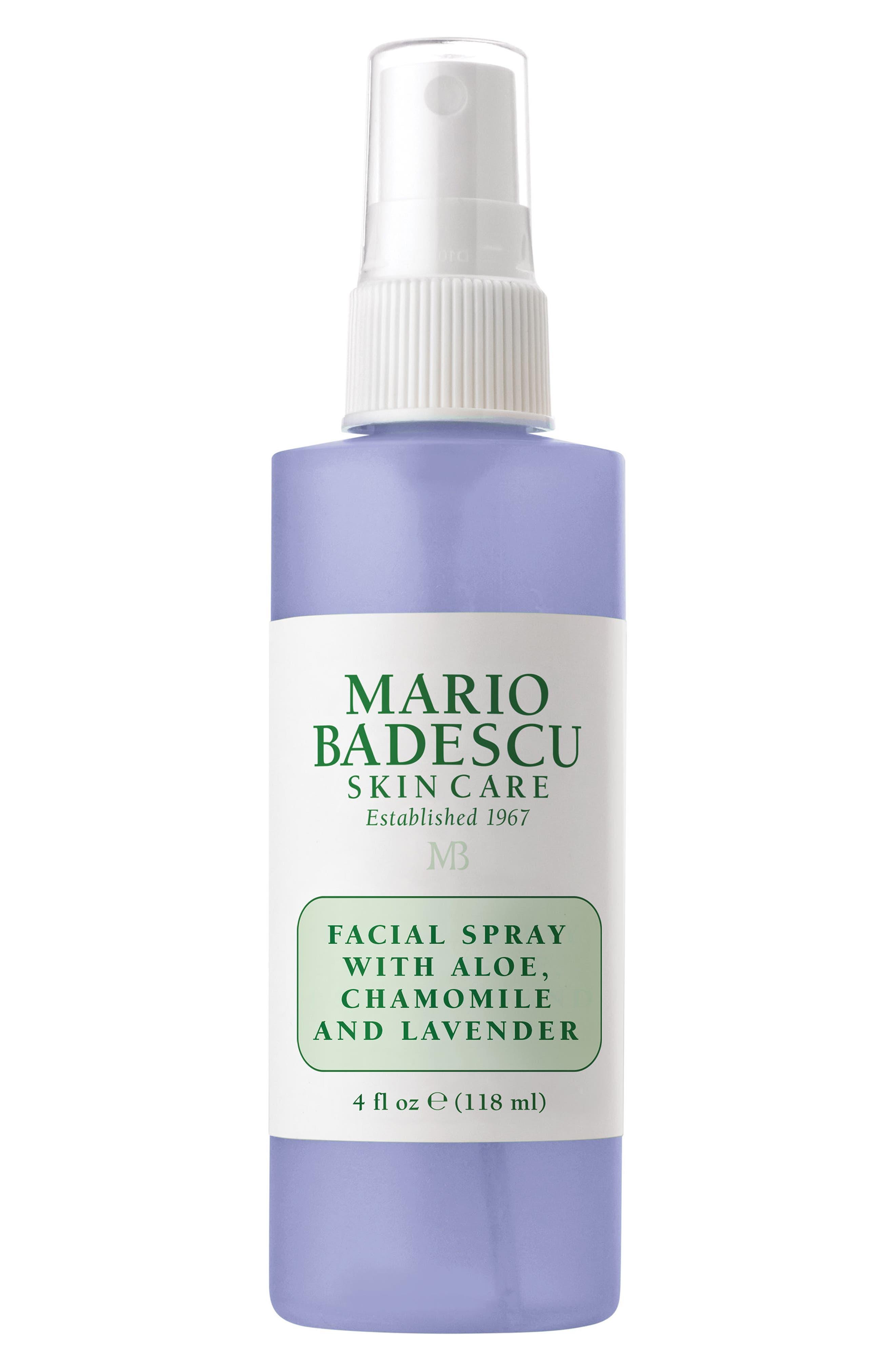 MARIO BADESCU Facial Spray with Aloe, Chamomile & Lavender, Main, color, NO COLOR
