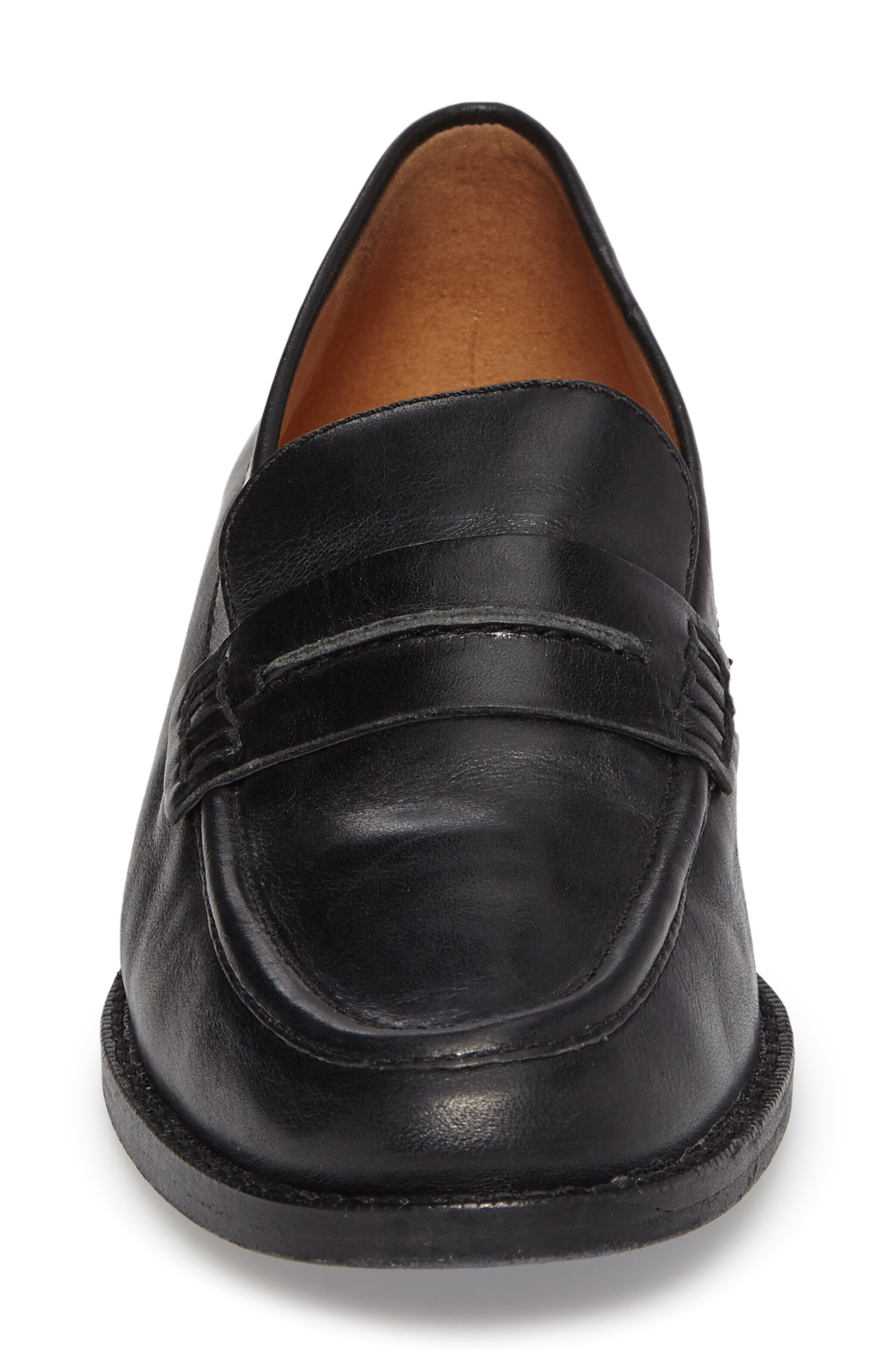 MADEWELL, The Elinor Loafer, Alternate thumbnail 4, color, 001