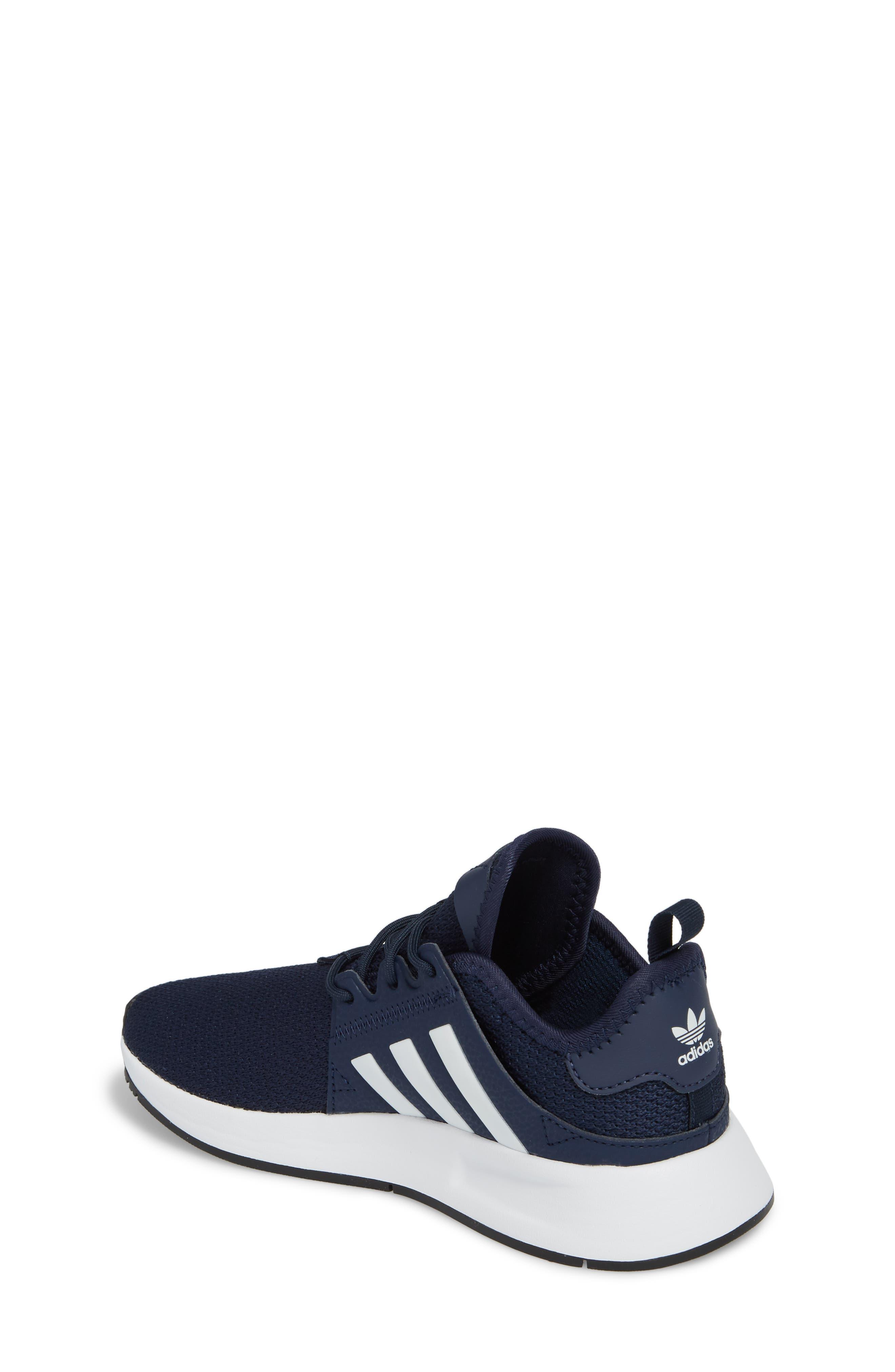 ADIDAS, X_PLR Sneaker, Alternate thumbnail 2, color, COLLEGIATE NAVY/ WHITE