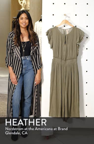 Carrie Pintucked Jumpsuit, sales video thumbnail