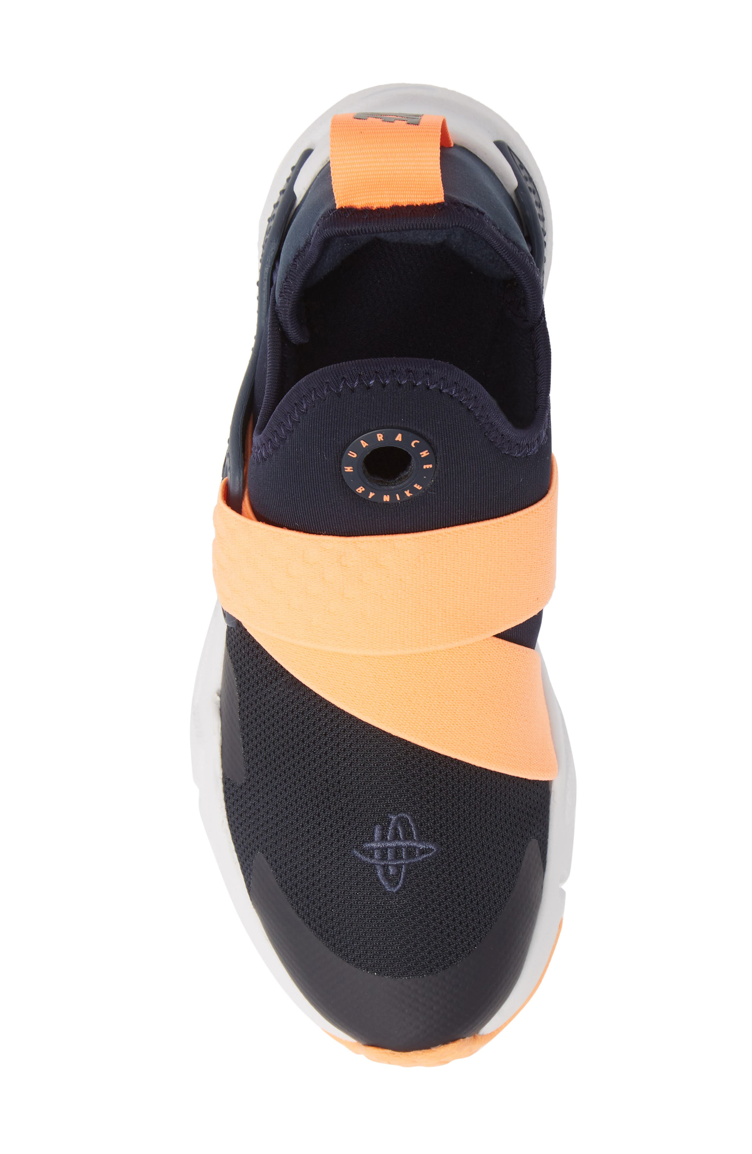 NIKE, Huarache Extreme Sneaker, Alternate thumbnail 5, color, OBSIDIAN/ POLARIZED BLUE-BLUE