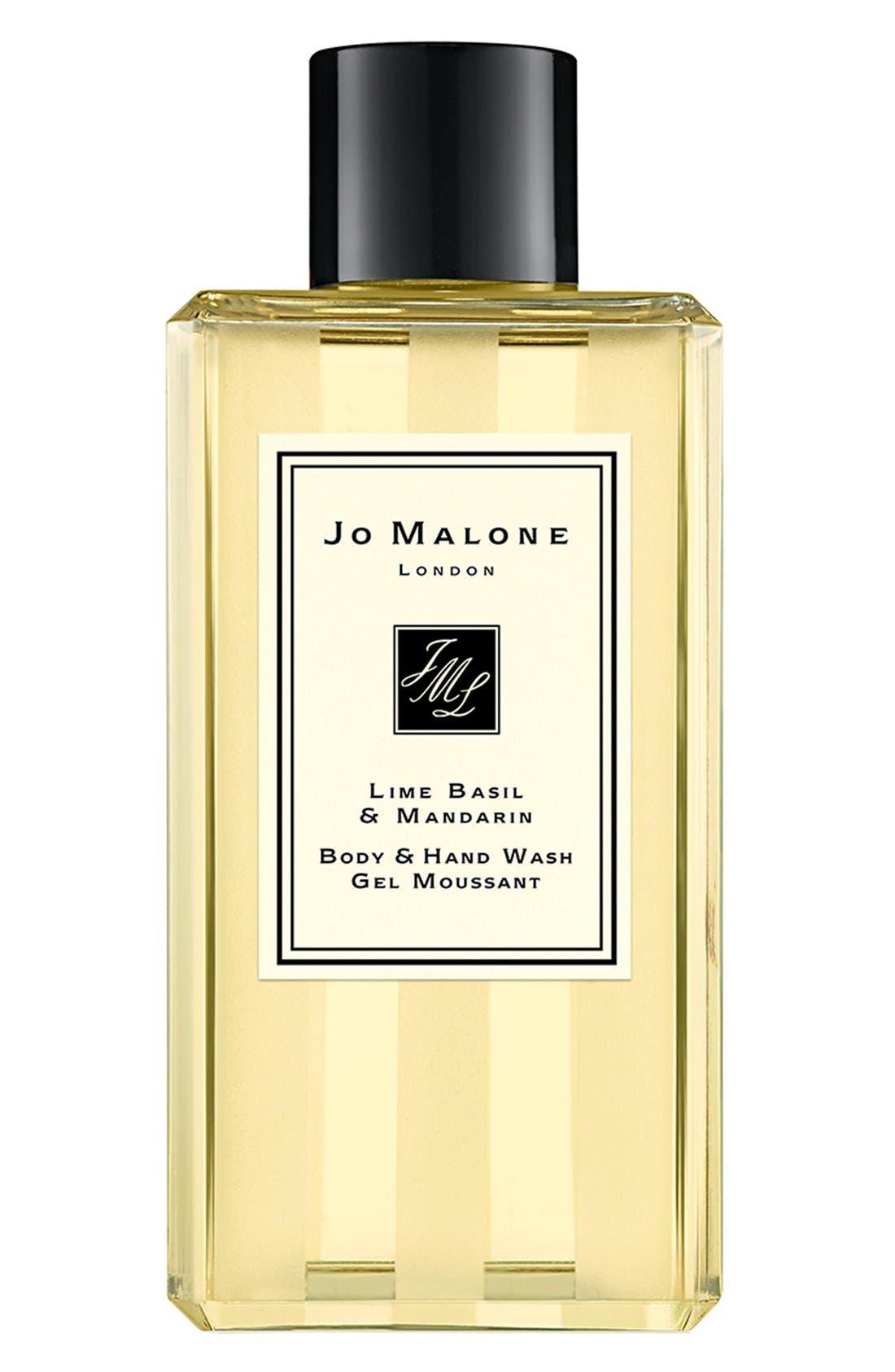JO MALONE LONDON<SUP>™</SUP>, Lime Basil & Mandarin Shower Gel, Main thumbnail 1, color, NO COLOR