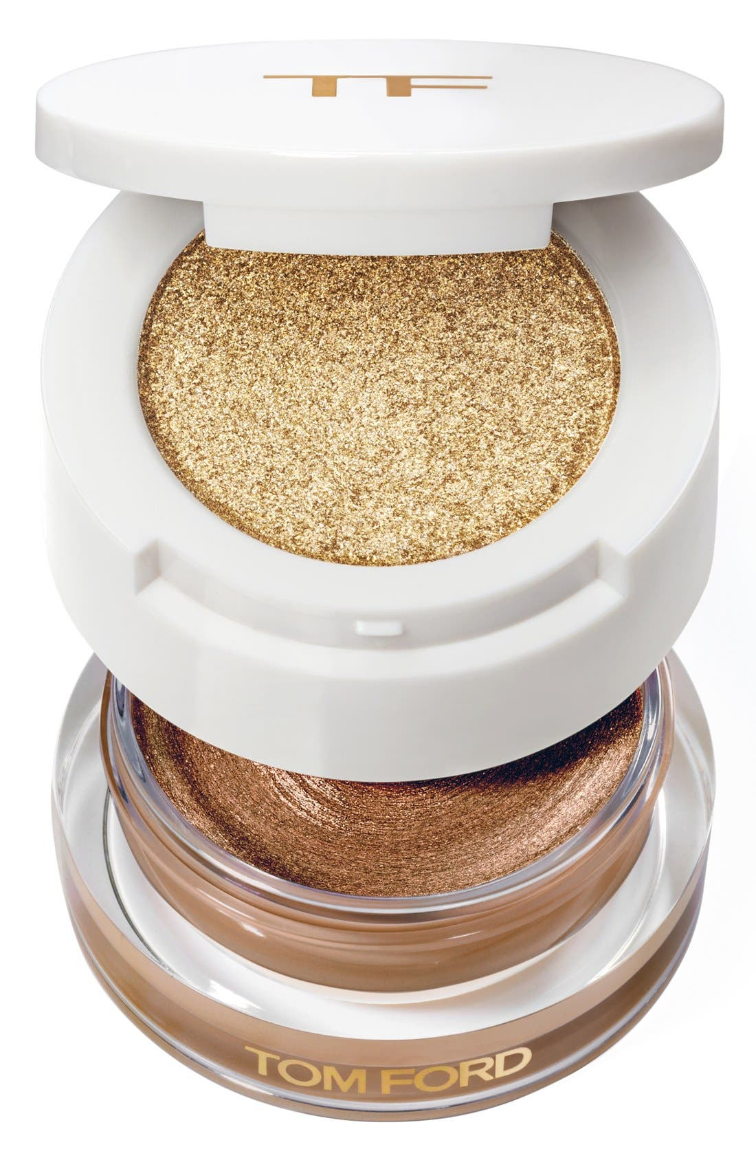 TOM FORD, Cream & Powder Eye Color Duo, Main thumbnail 1, color, NAKED BRONZE