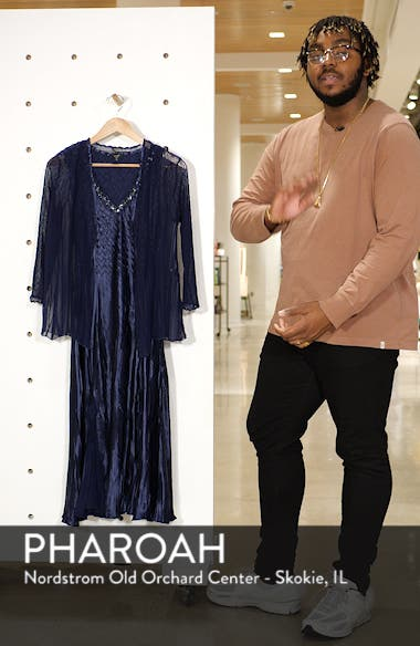 Embellished Midi Dress with Jacket, sales video thumbnail