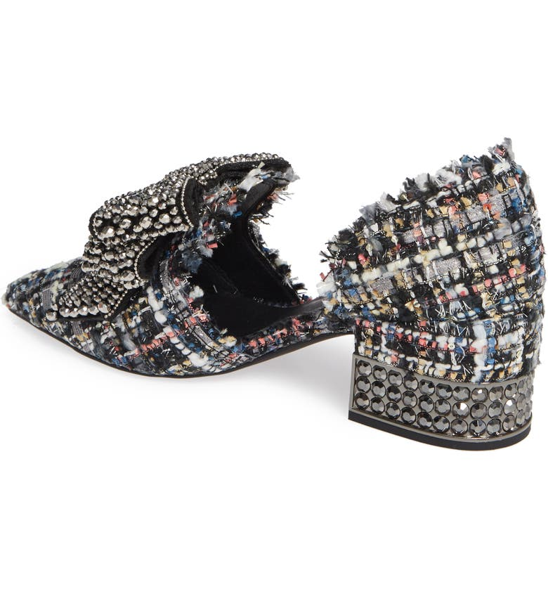 7b7fc65f2df Jeffrey Campbell Valenti Embellished Bow Loafer (Women)
