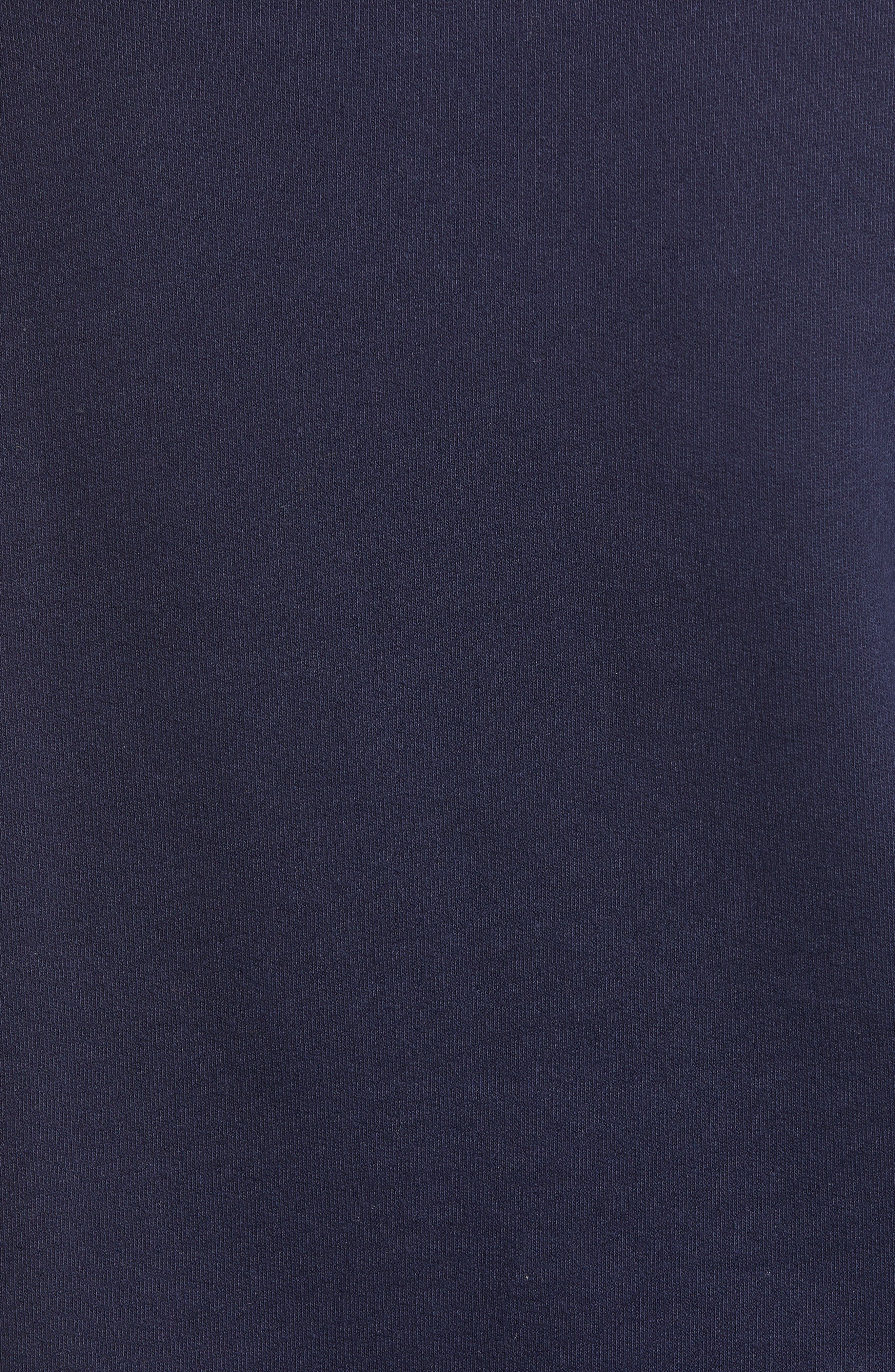 J.CREW, Champagne Sweatshirt, Alternate thumbnail 5, color, 400