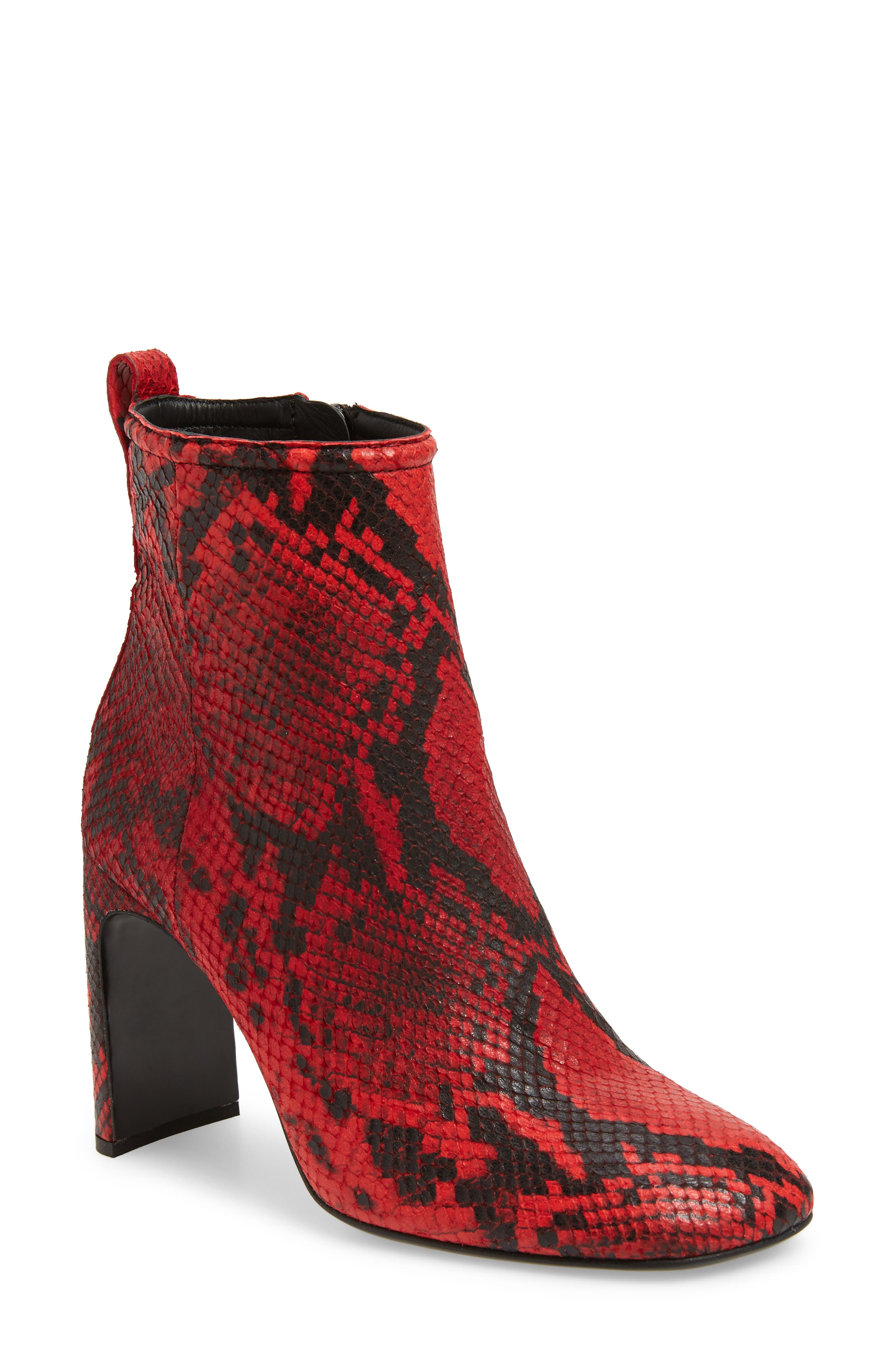 Rag & Bone Ellis Bootie, Red