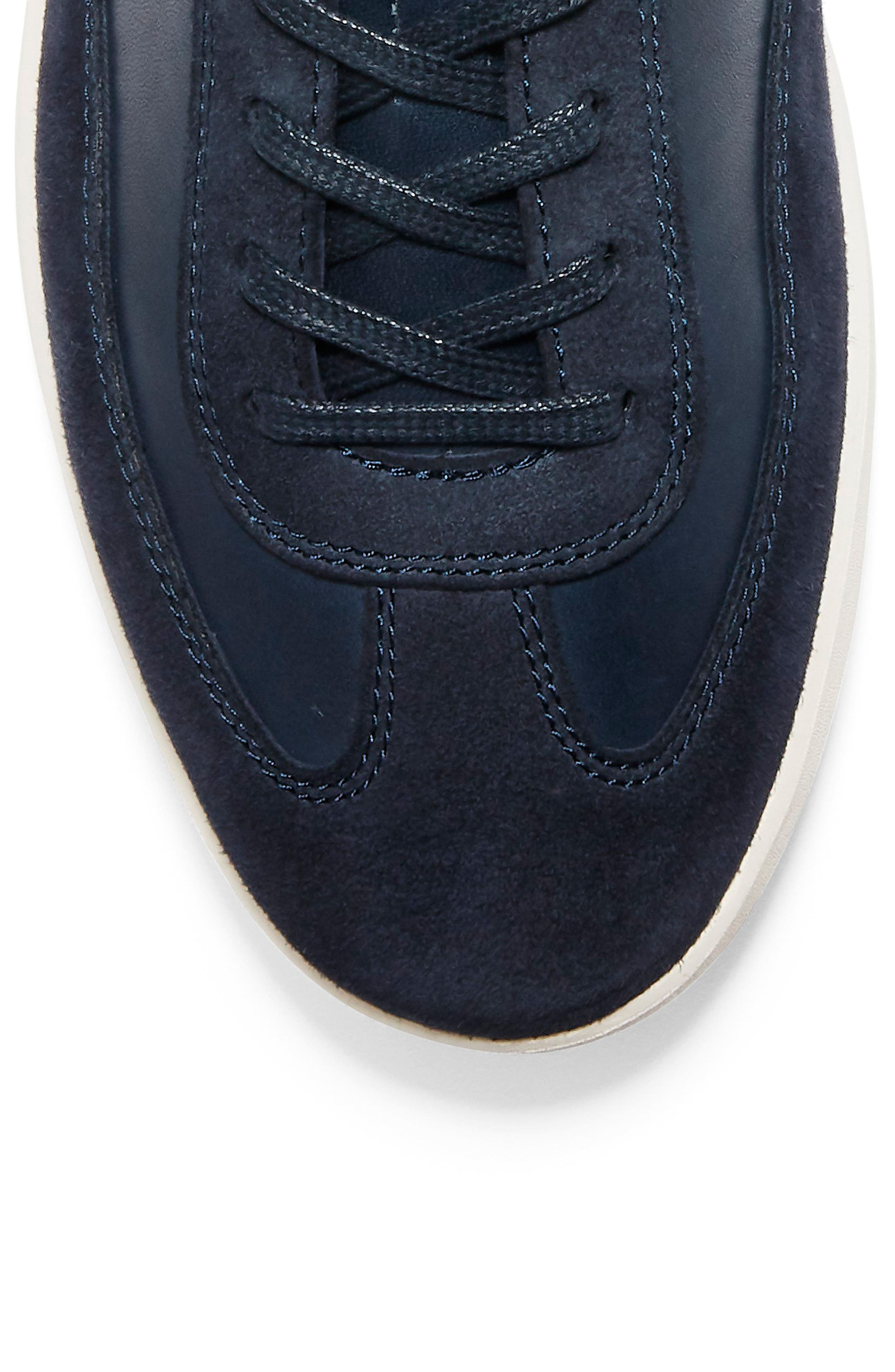 COLE HAAN, GrandPro Turf Sneaker, Alternate thumbnail 7, color, NAVY INK LEATHER
