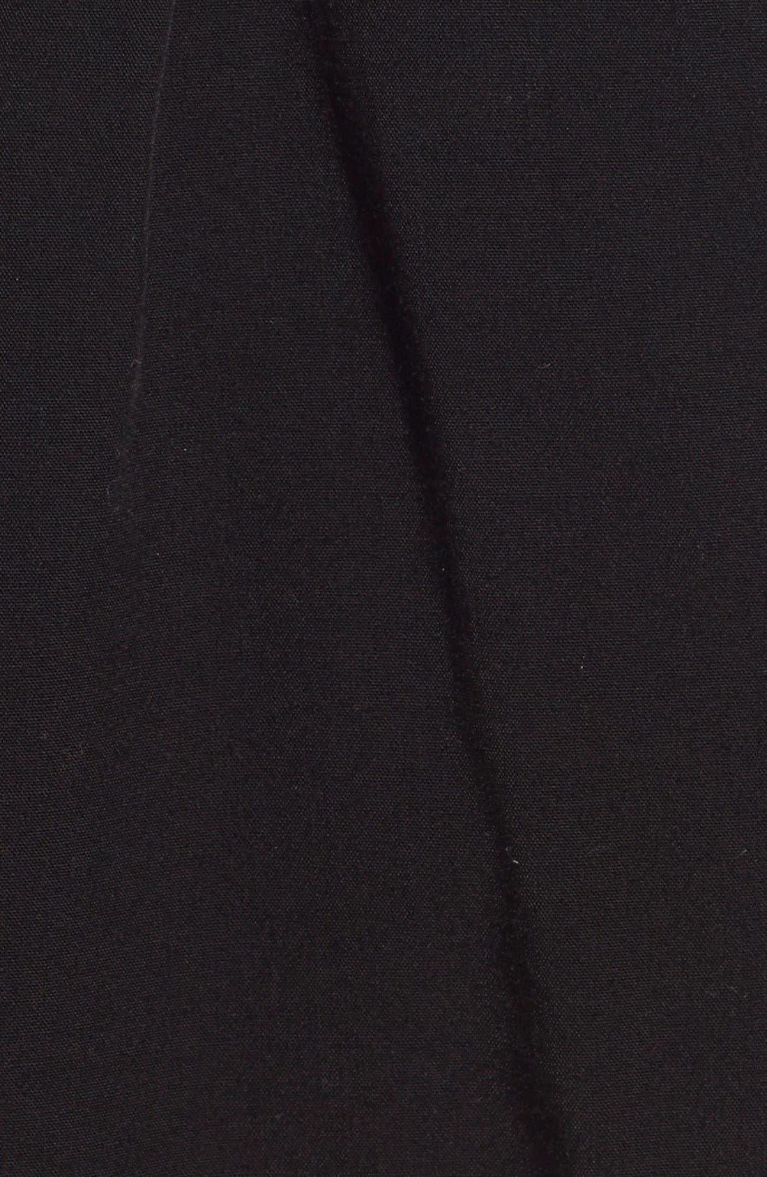 SPLENDID, Tie Front Shorts, Alternate thumbnail 2, color, 001