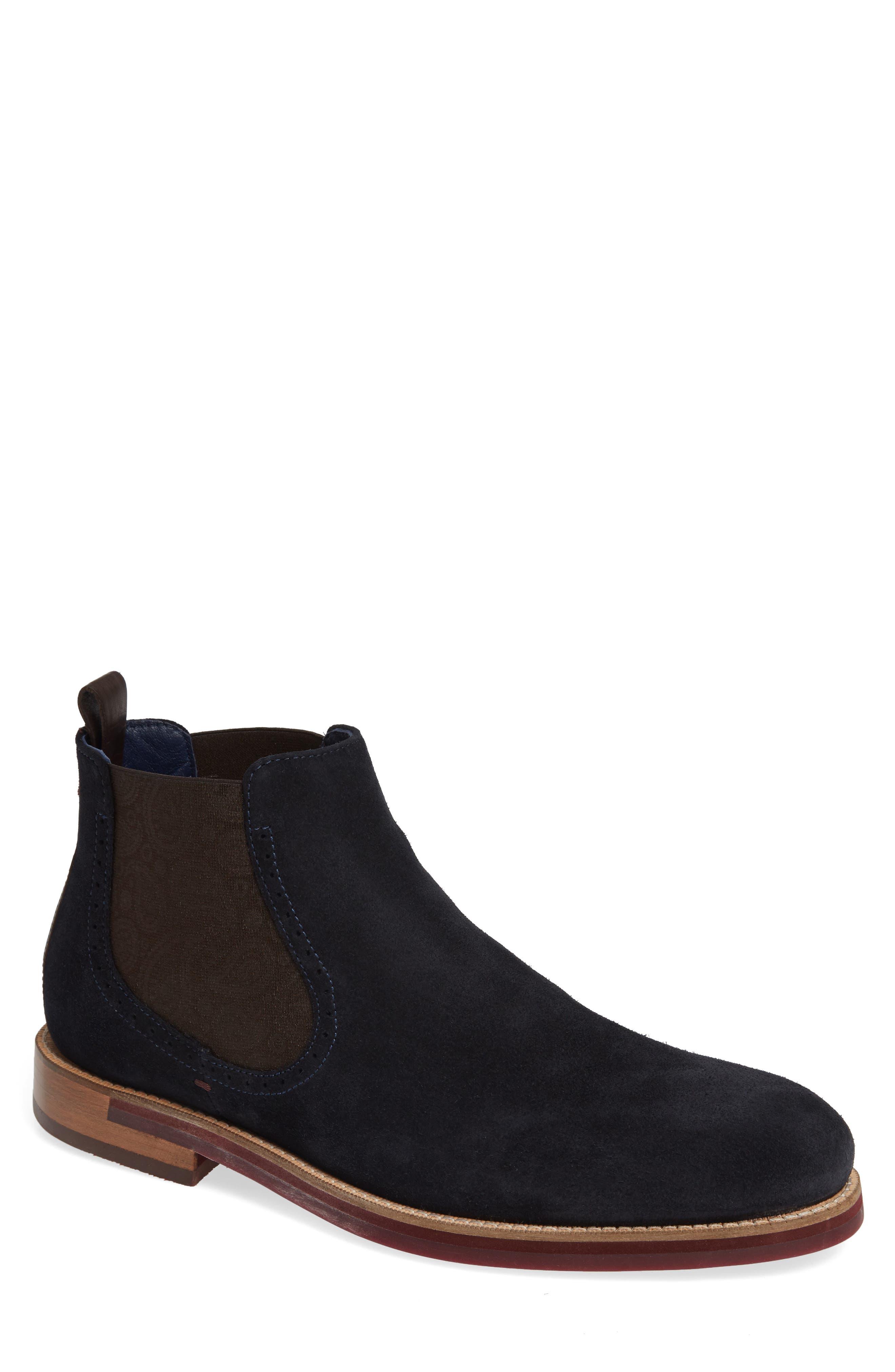 Ted Baker London Secaint Chelsea Boot, Blue