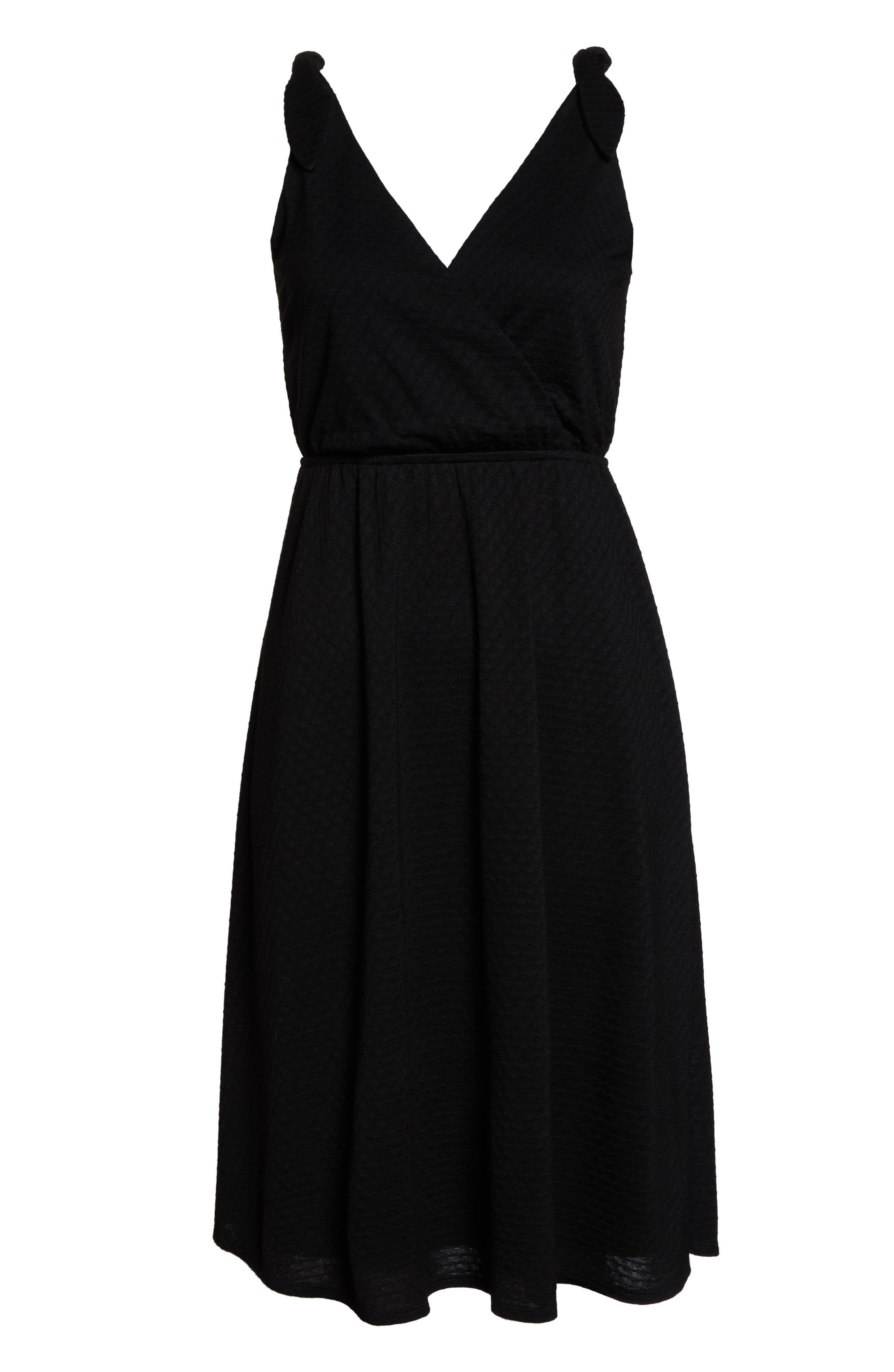 ALI & JAY, Fly Baby Dress, Alternate thumbnail 7, color, BLACK