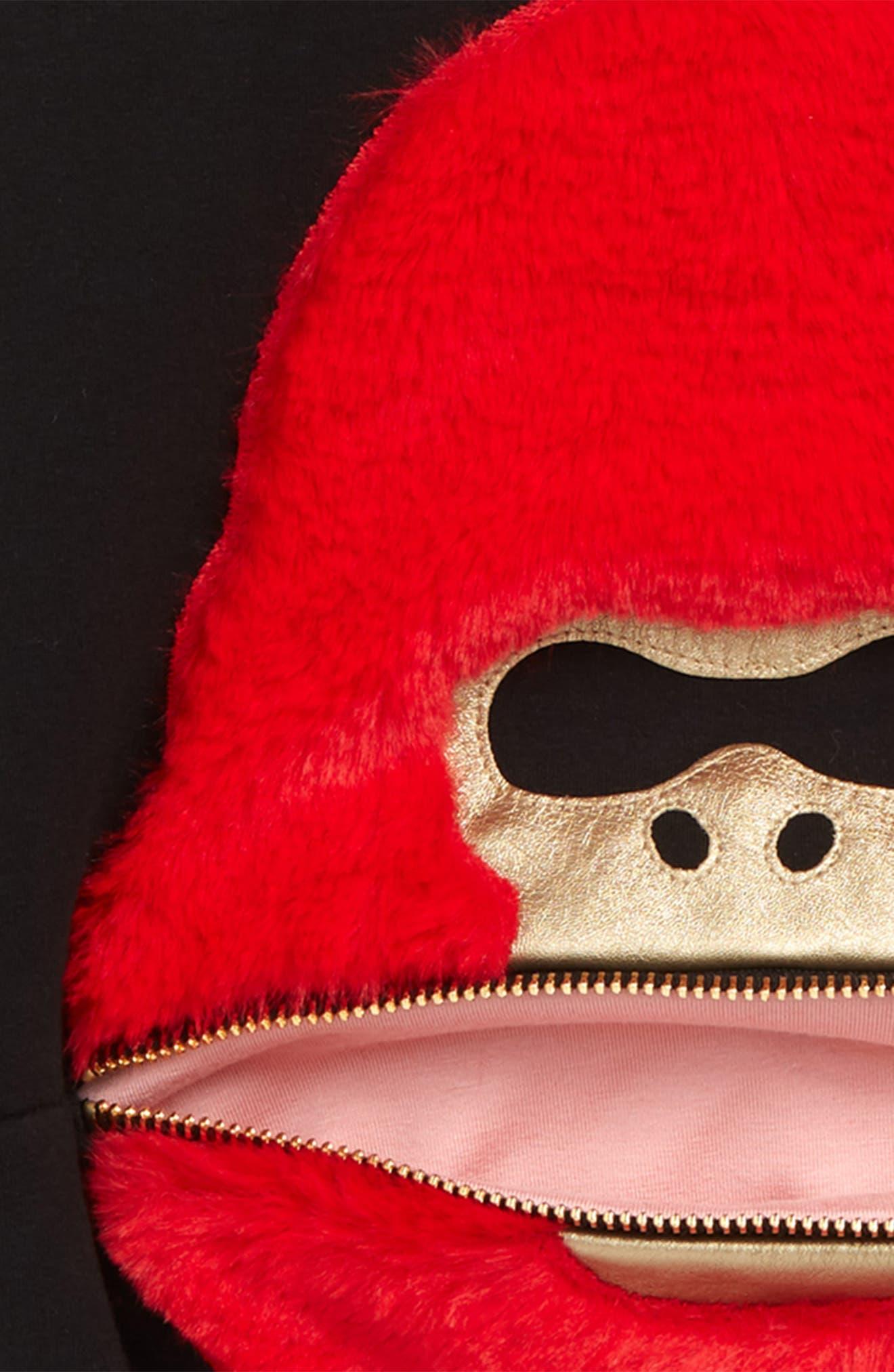 BANGBANG COPENHAGEN, Vicious Viggo Hooded Sweatshirt, Alternate thumbnail 2, color, BLACK