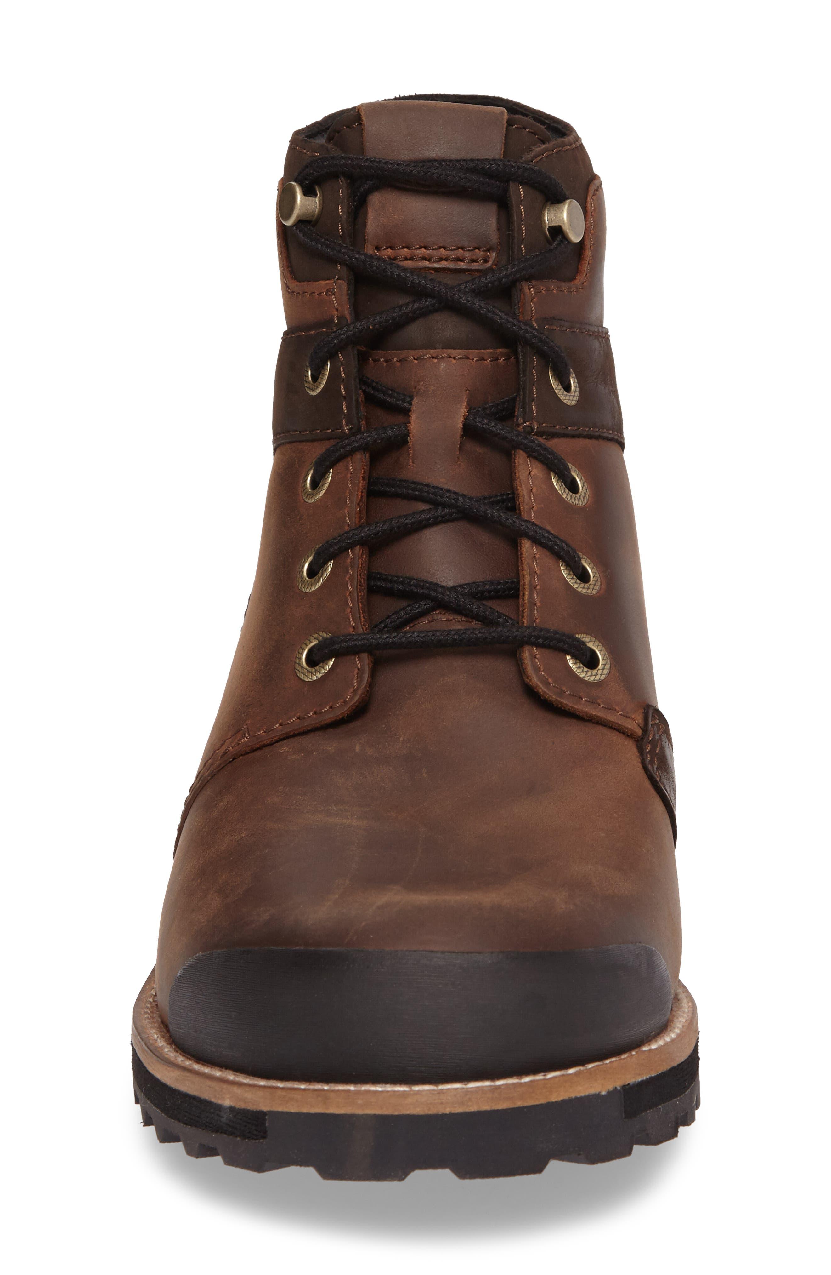KEEN, The Rocker Waterproof Plain Toe Boot, Alternate thumbnail 4, color, BIG BEN/ EIFFEL