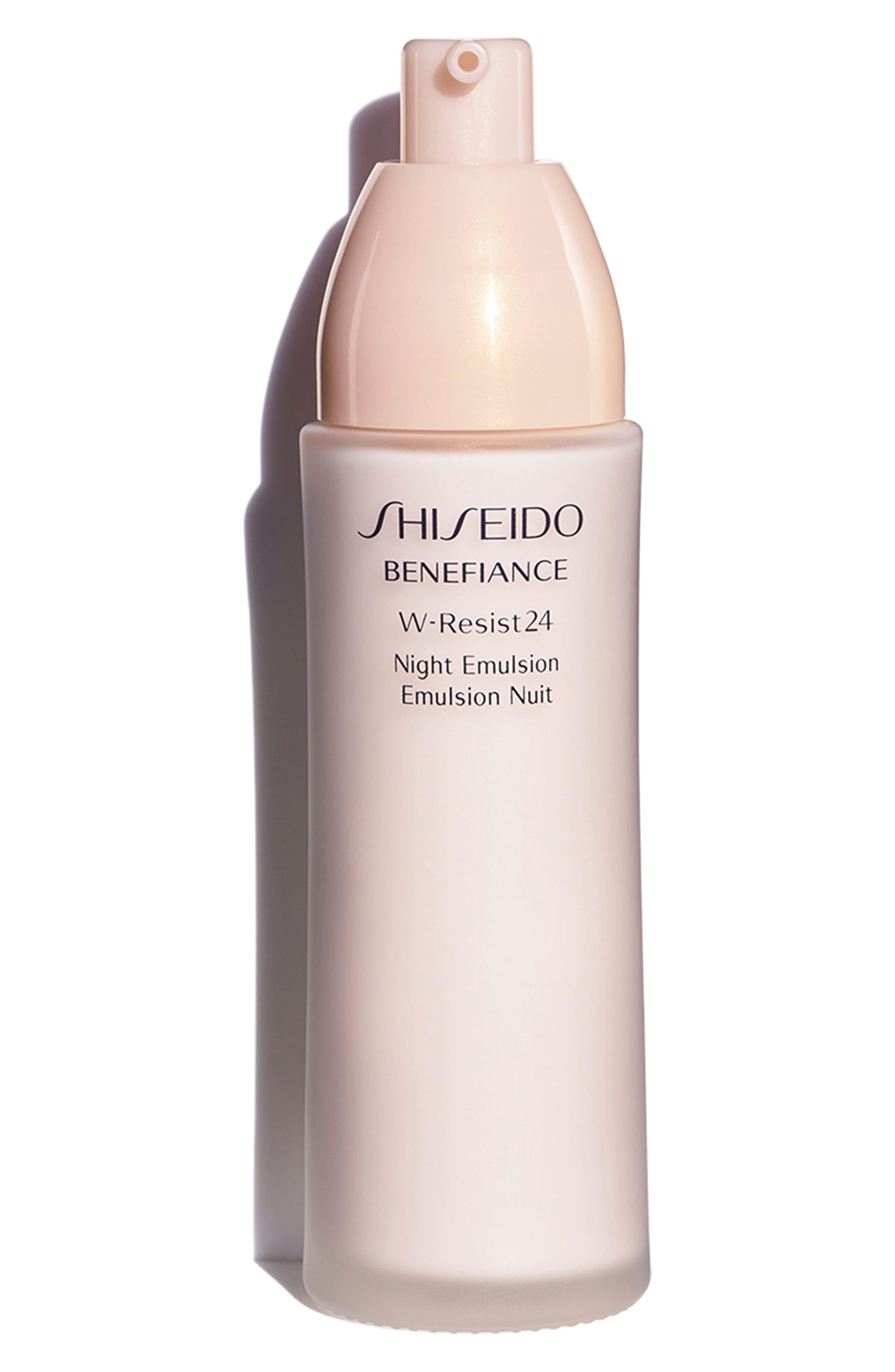 SHISEIDO, Benefiance WrinkleResist24 Night Emulsion, Alternate thumbnail 2, color, NO COLOR