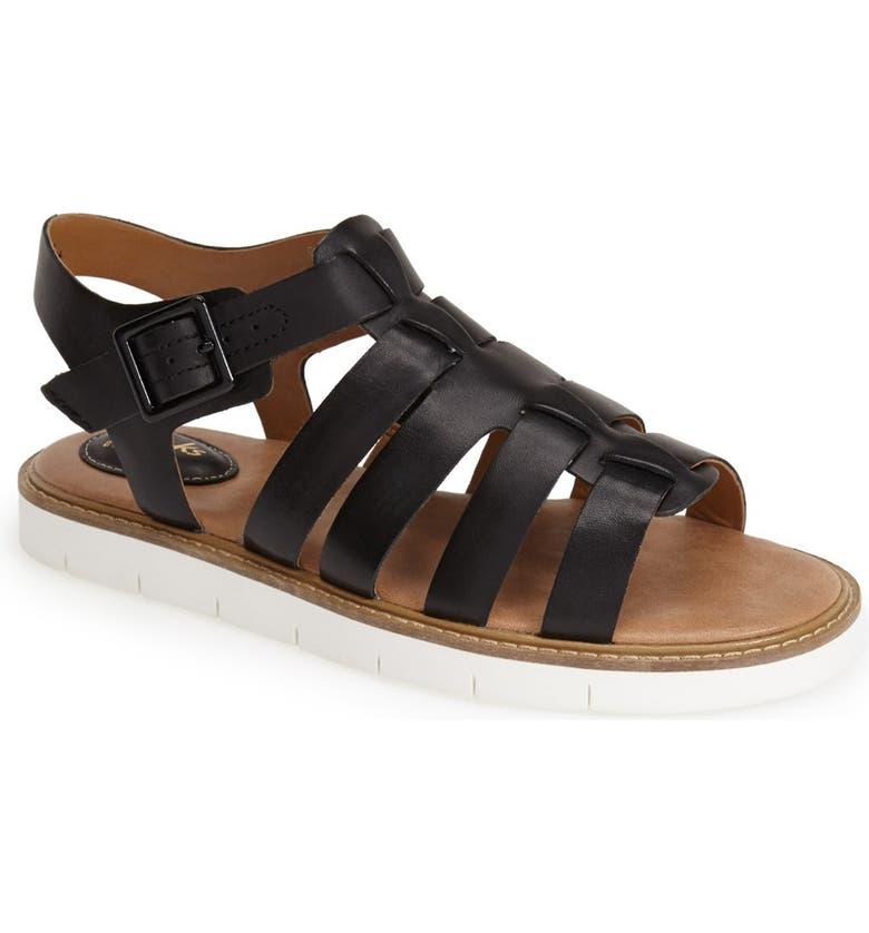 985b38fa16e4 CLARKS SUP ®  SUP   Lydie Kona  Leather Sandal