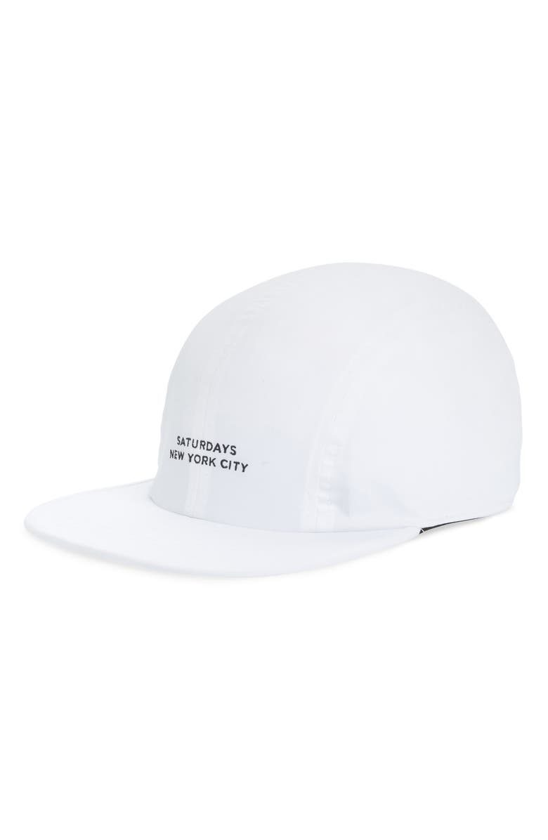 Saturdays Surf Nyc Accessories RUSSEL DWR BASEBALL CAP - WHITE