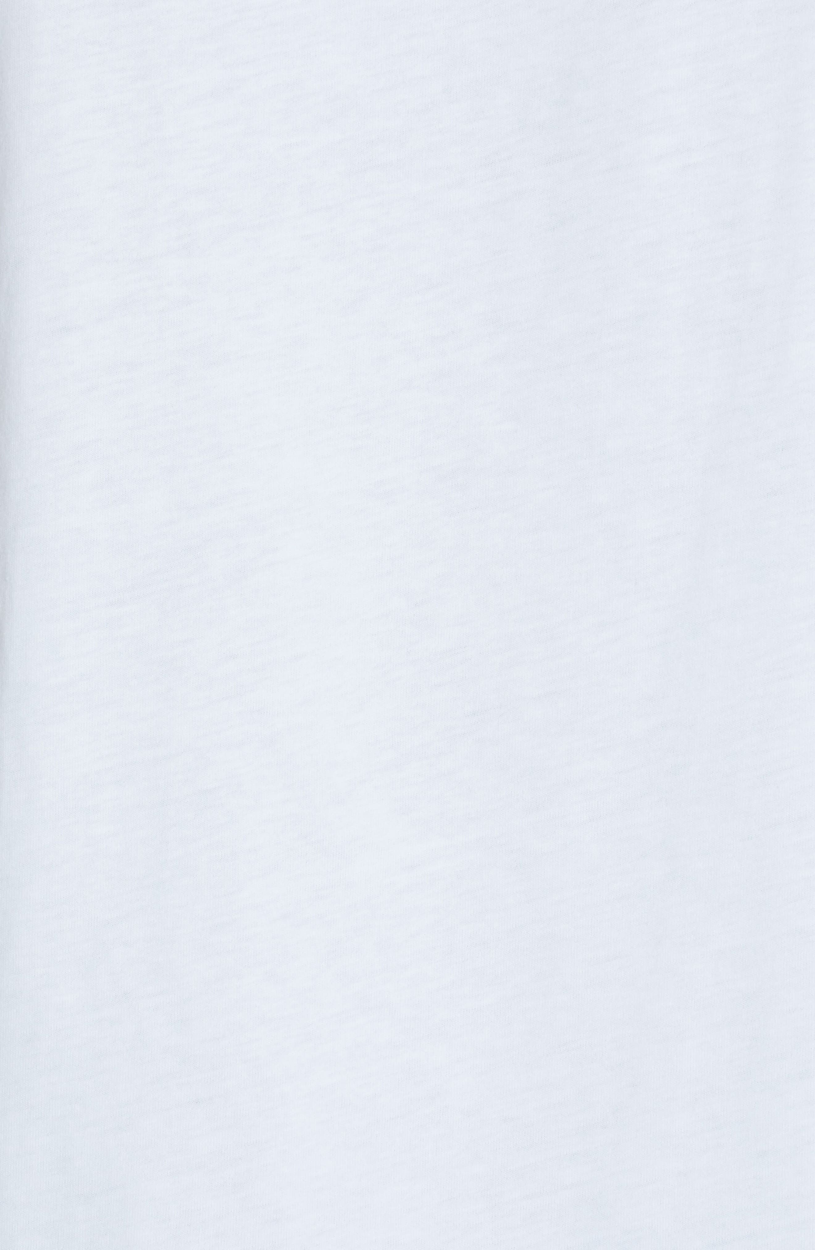 MOSCHINO, Circus Teddy Tee, Alternate thumbnail 5, color, WHITE