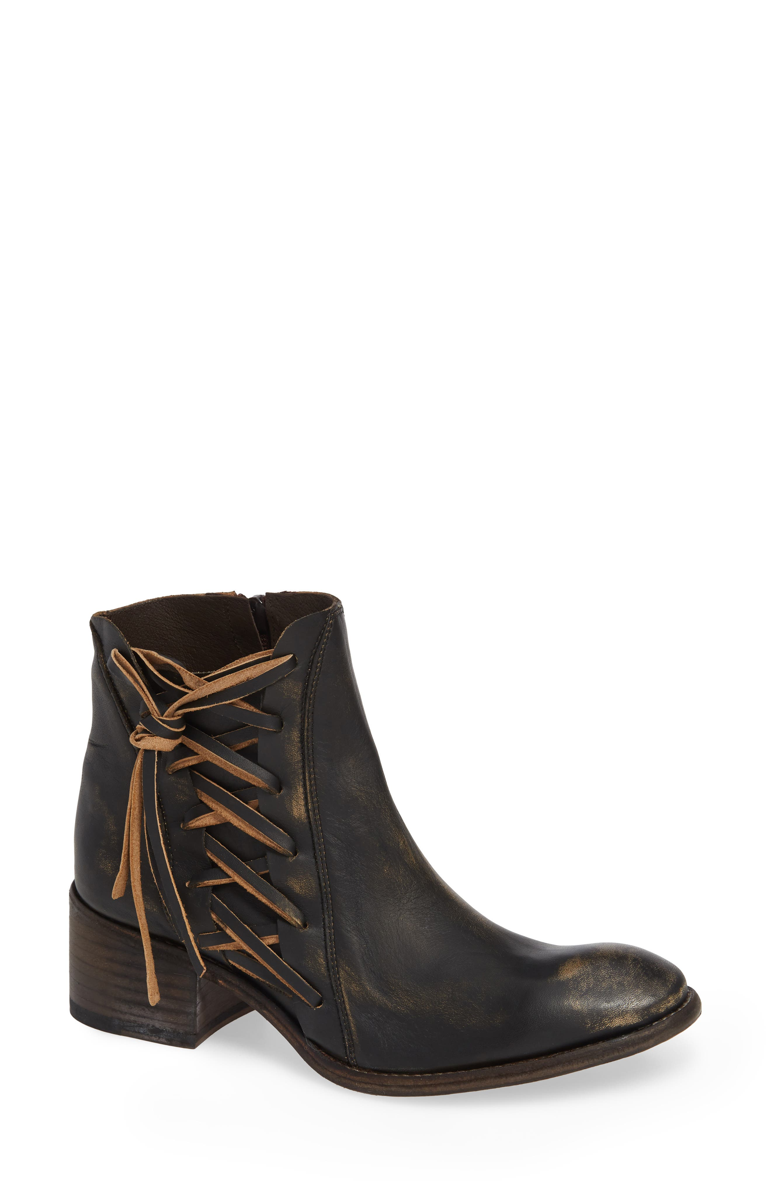 CORDANI Salazar Western Boot, Main, color, BROWN DISTRESSED LEATHER